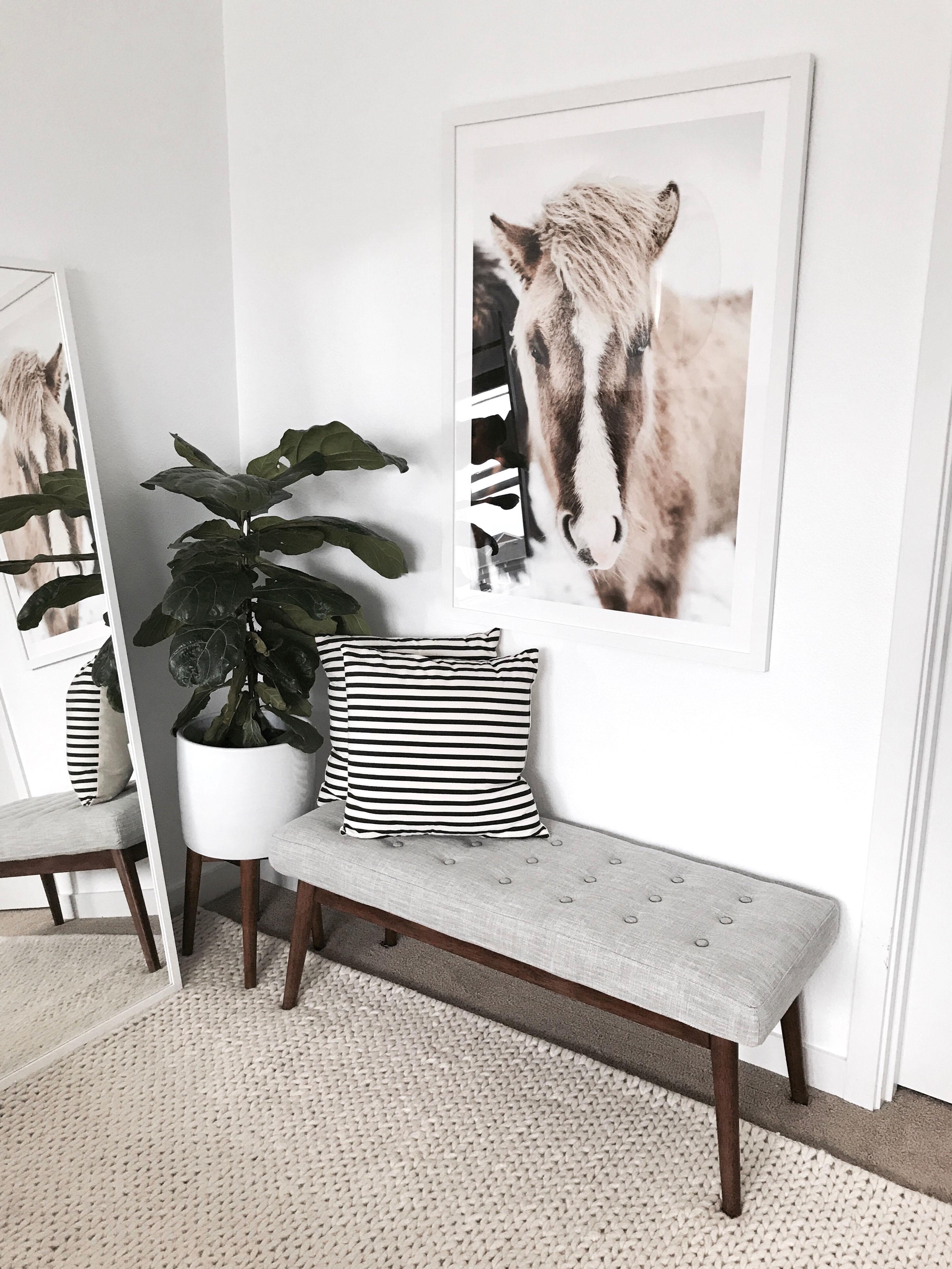 Artfully Walls horse print