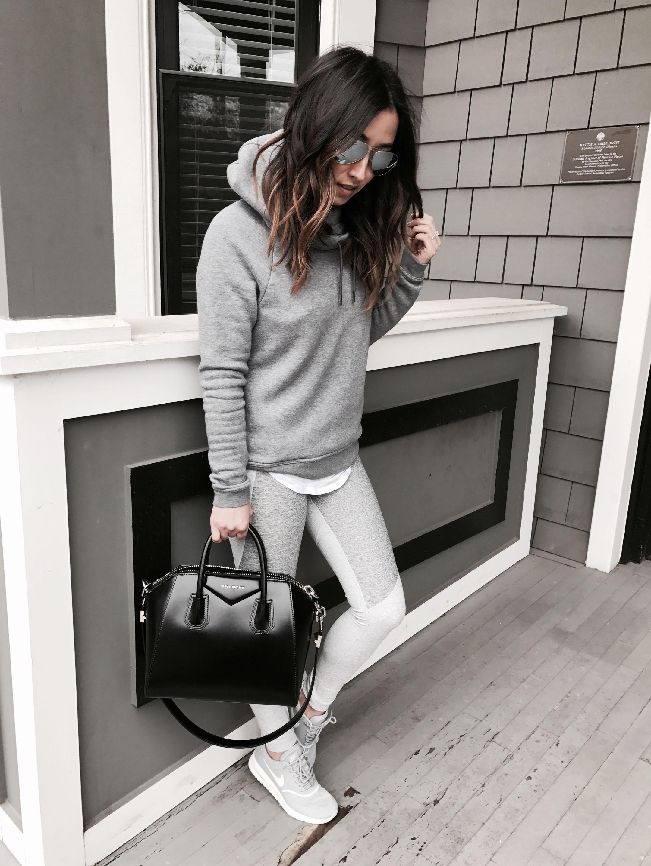 Nike Rally hoodie gray 2