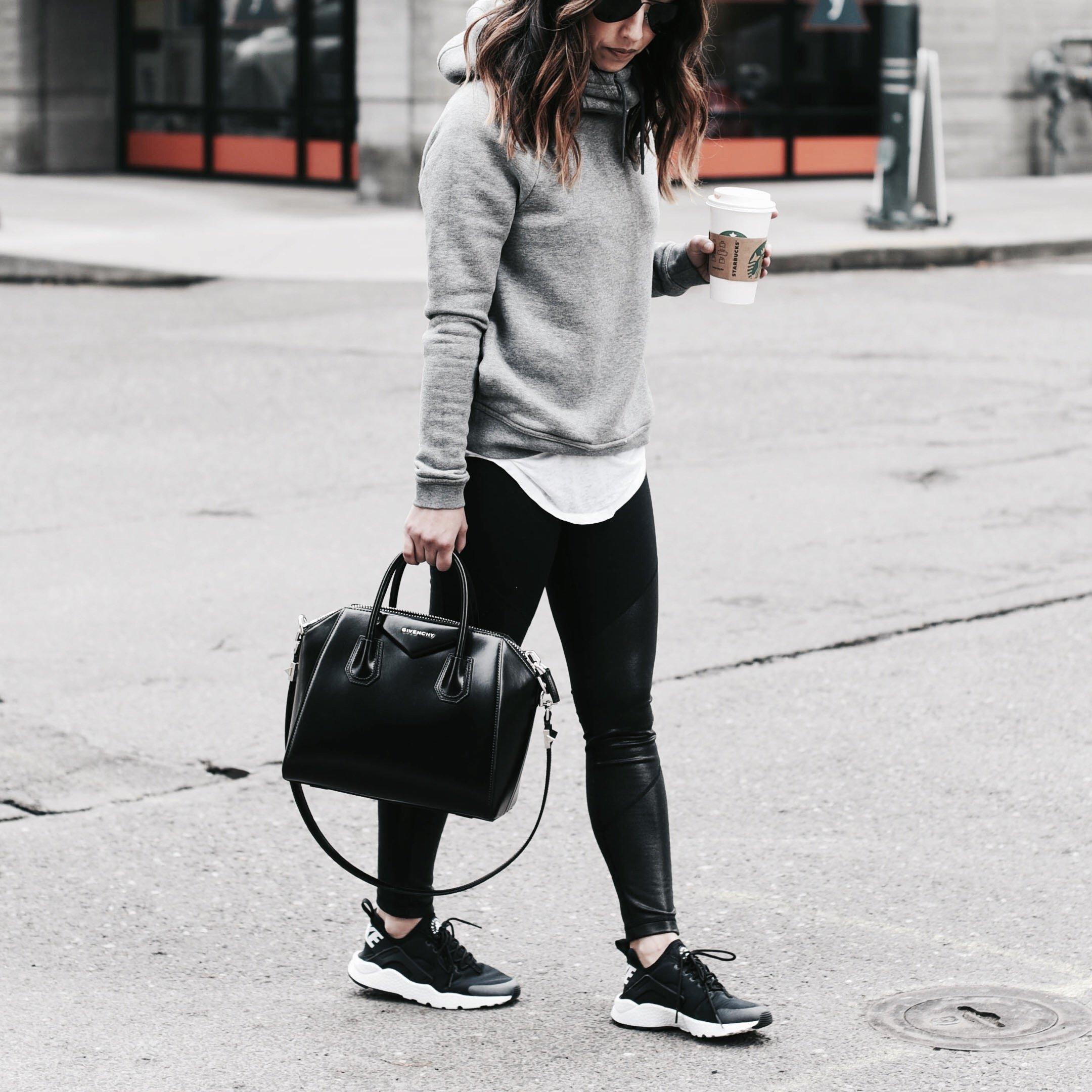 Nike rally hoodie gray
