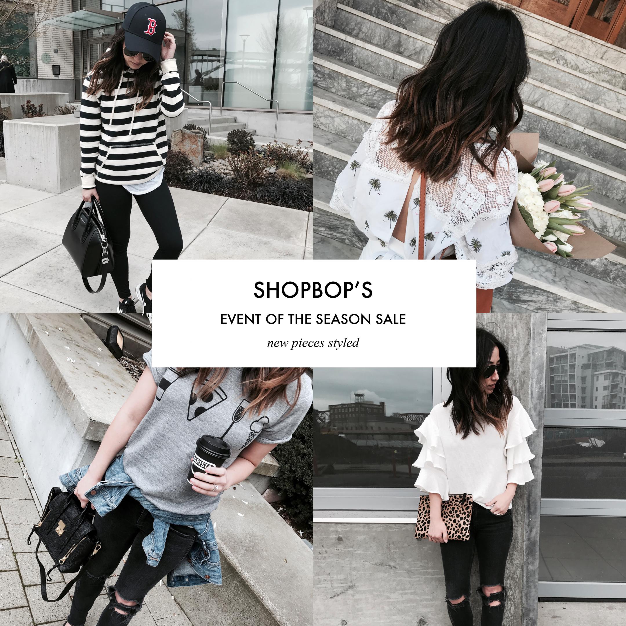 Shopbop's event of the season sale