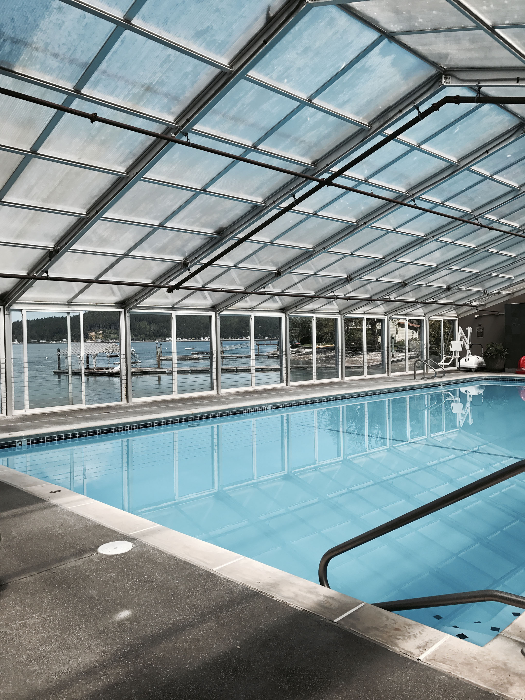 Alderbrook indoor pool