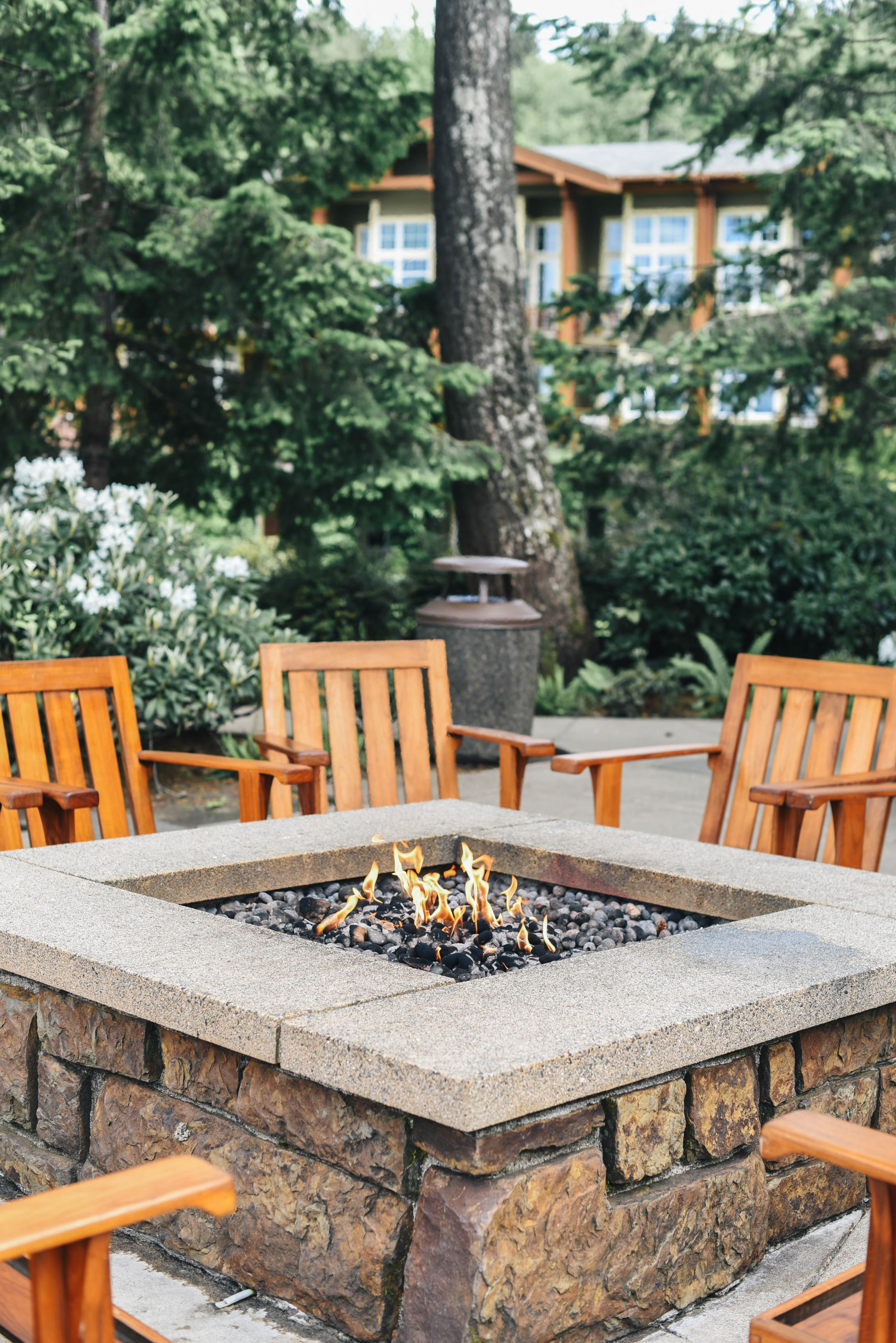 Alderbrook outdoor fire pit