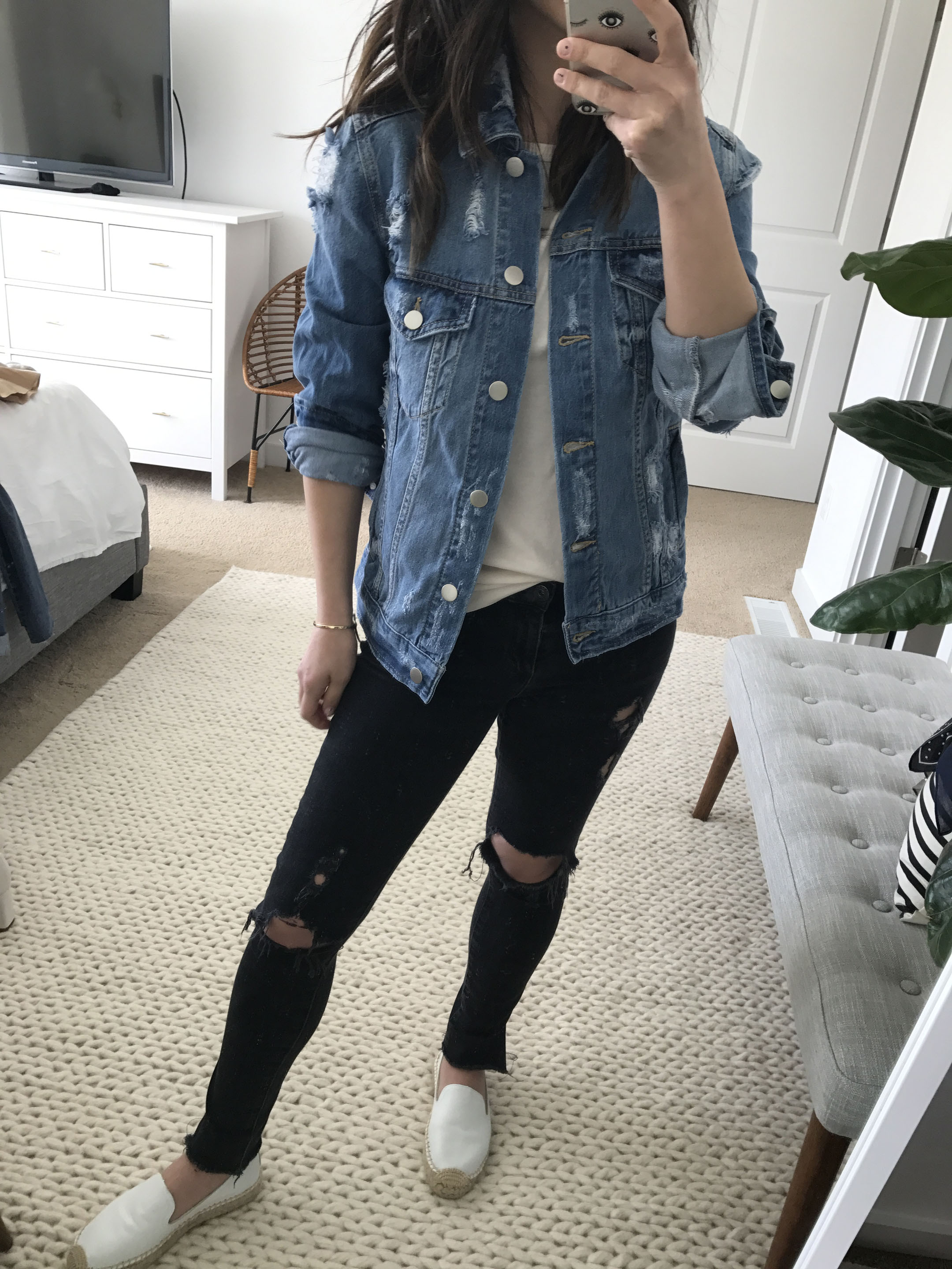 BP distressed denim jacket 3