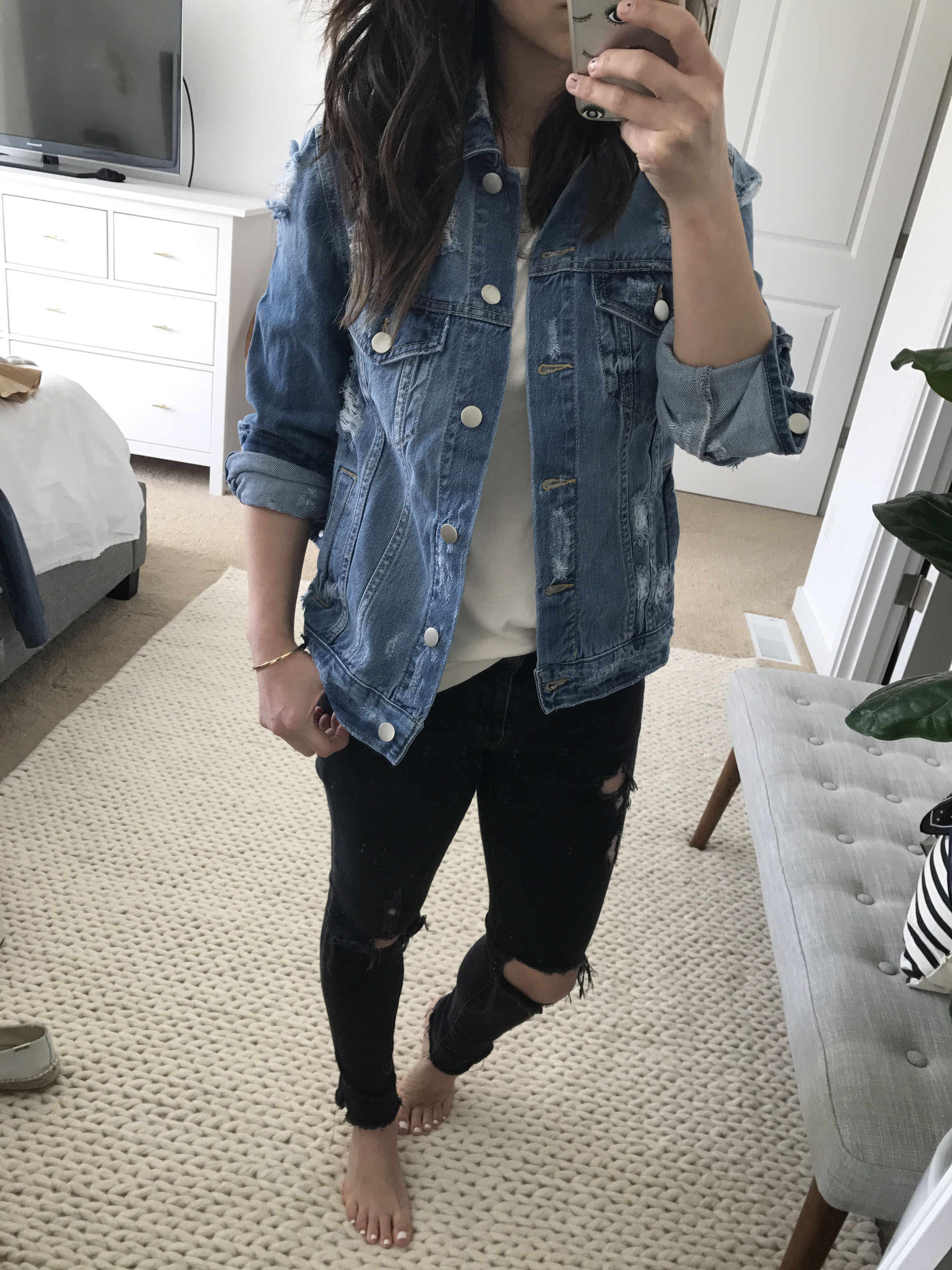 BP distressed denim jacket 4