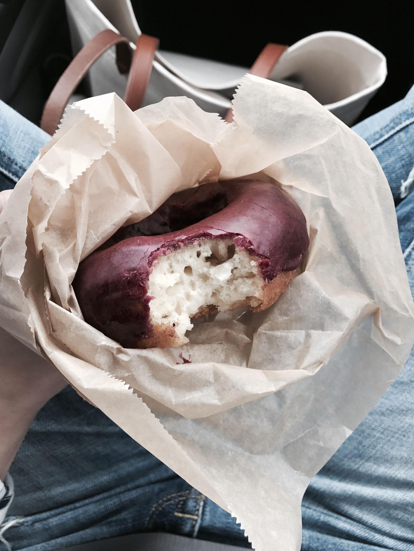 Blue Star vegan donut