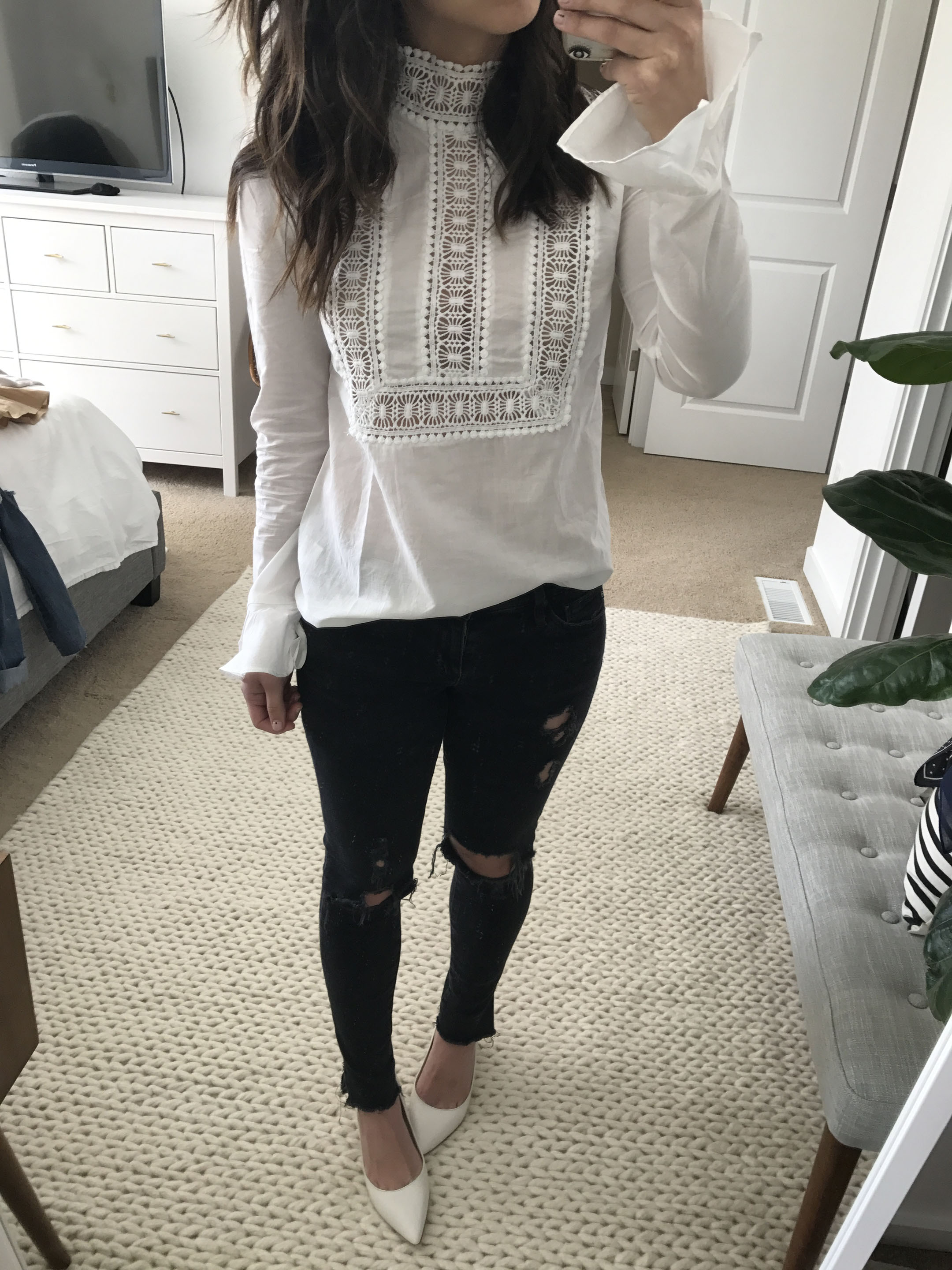 Endless Rose embroidered top 4