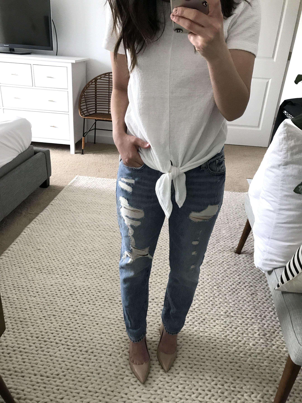 Gap boyfriend jeans 1