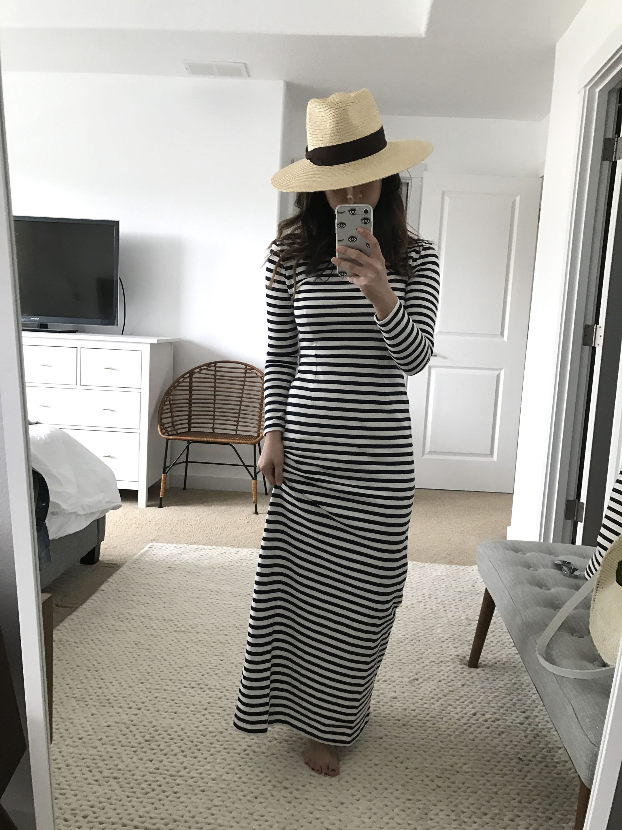 J.Crew Striped Maxi Dress 5