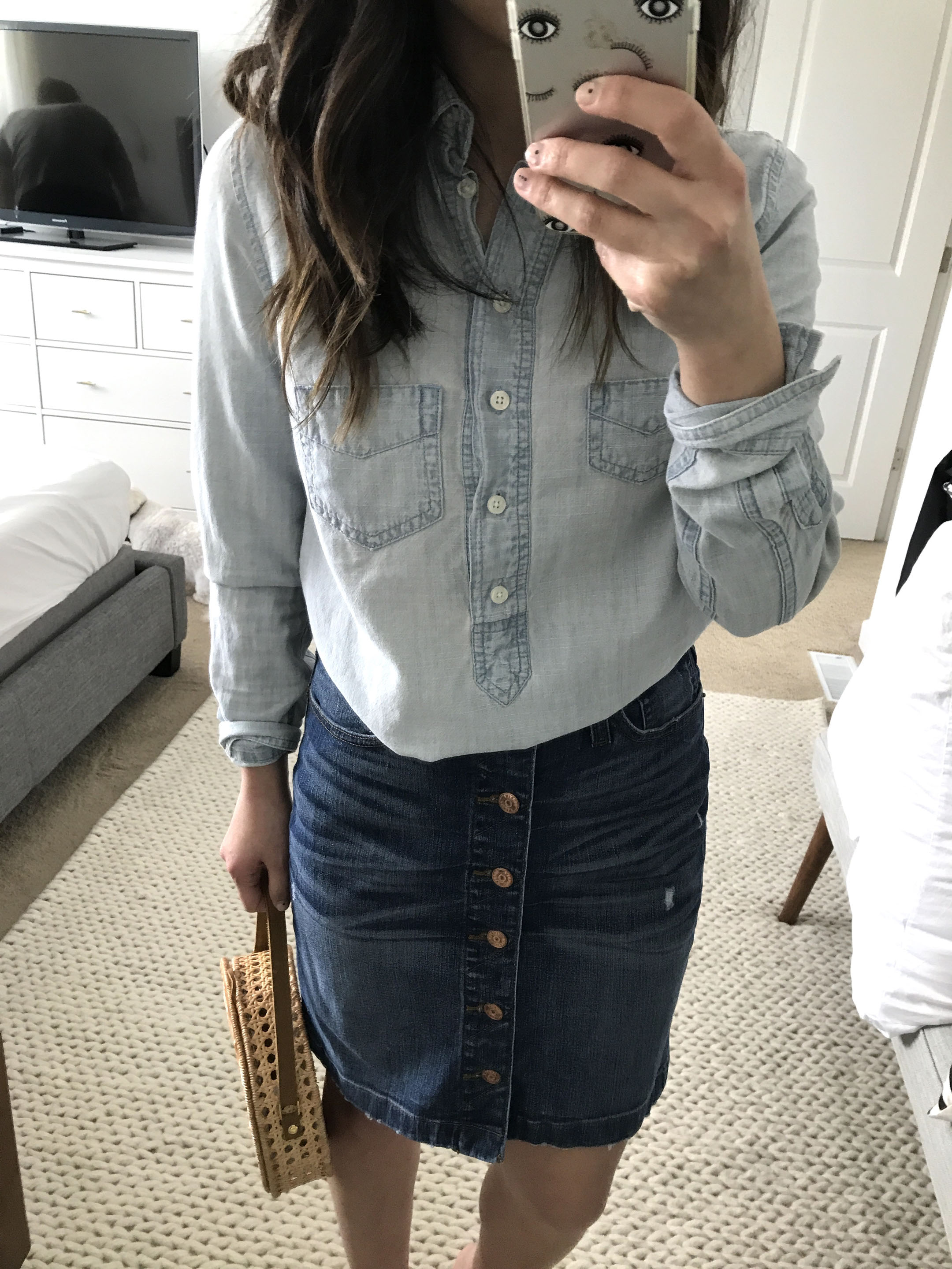 J.Crew denim pencil skirt 2