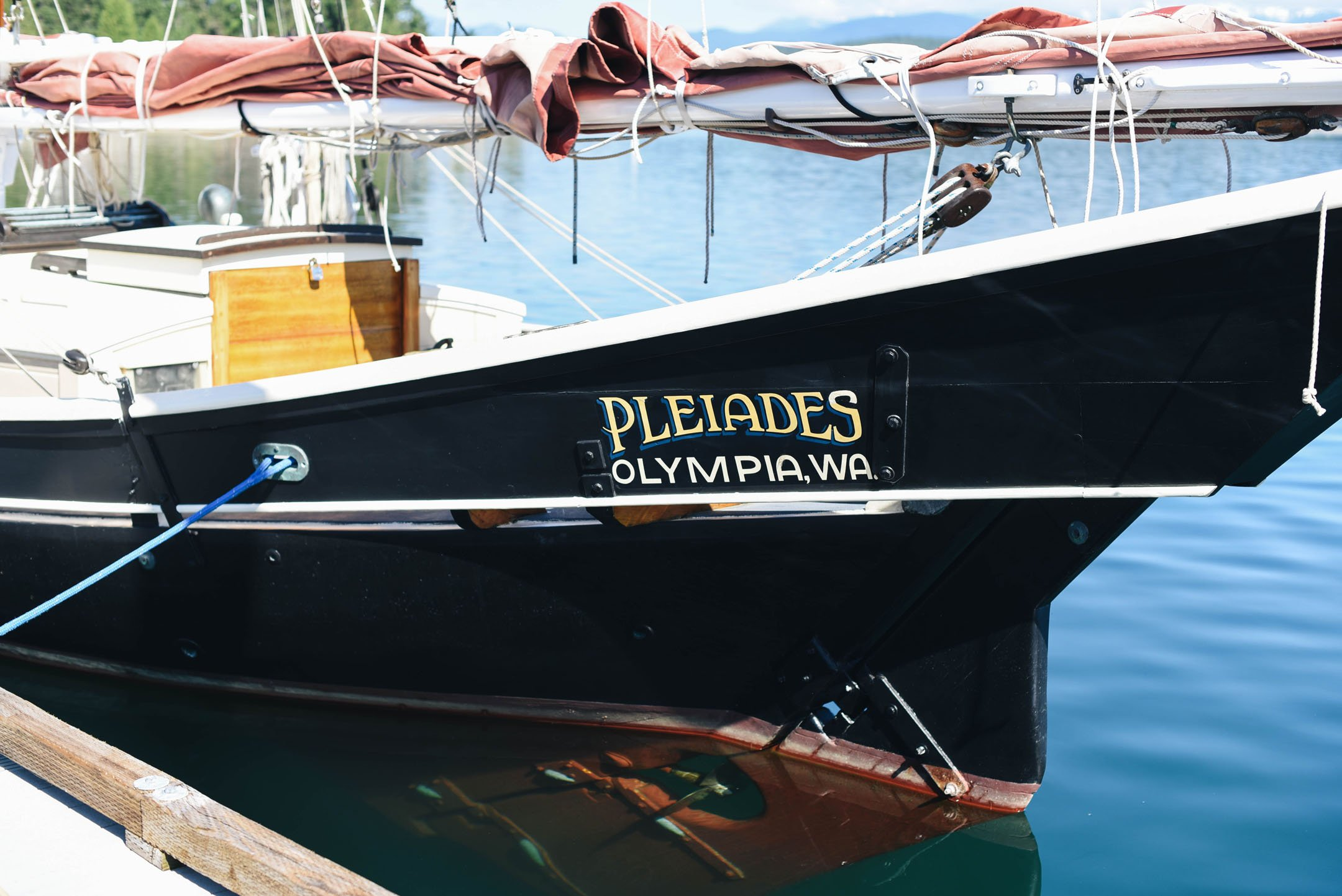 Pleiades olympia washington boat