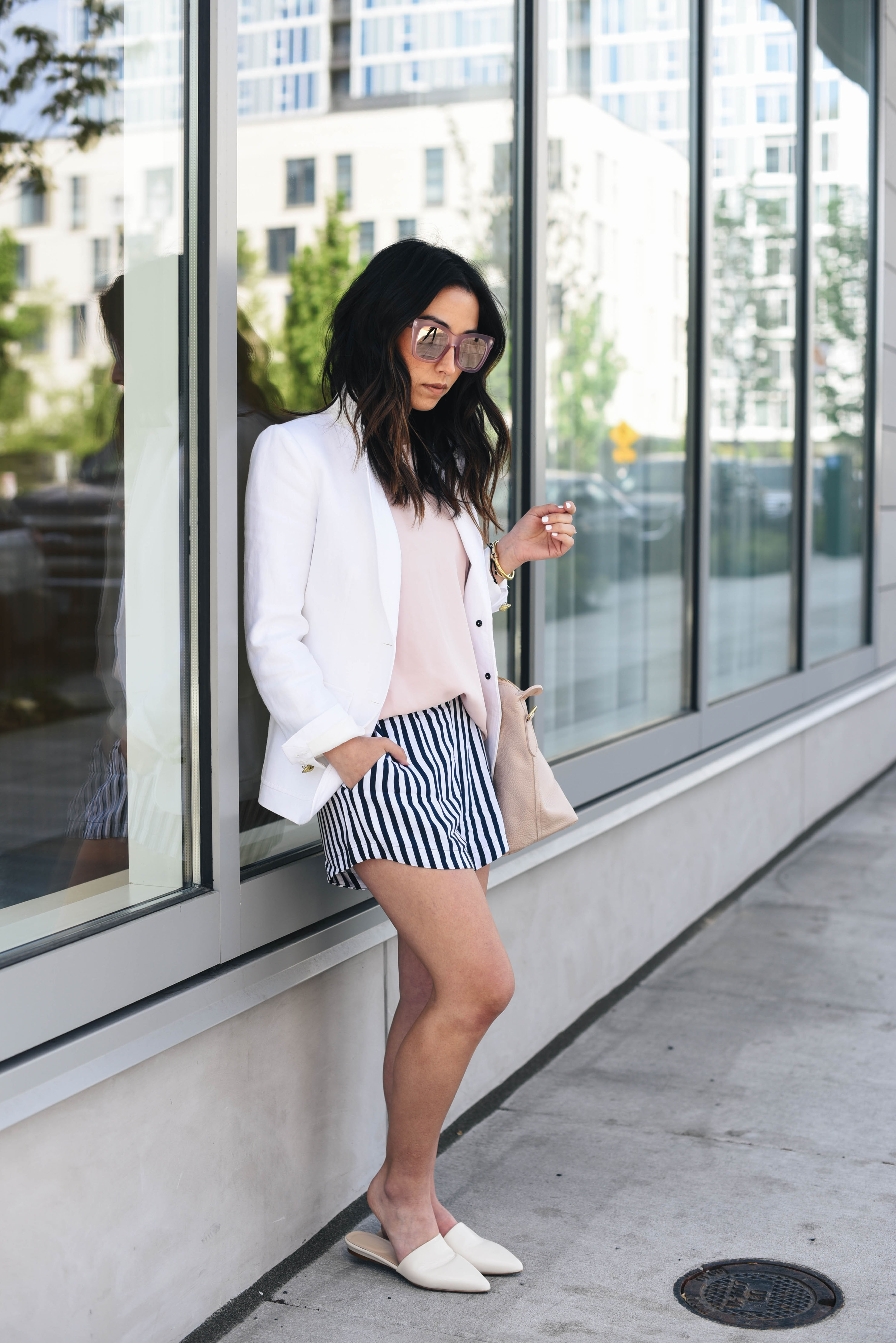 Splendid striped shorts