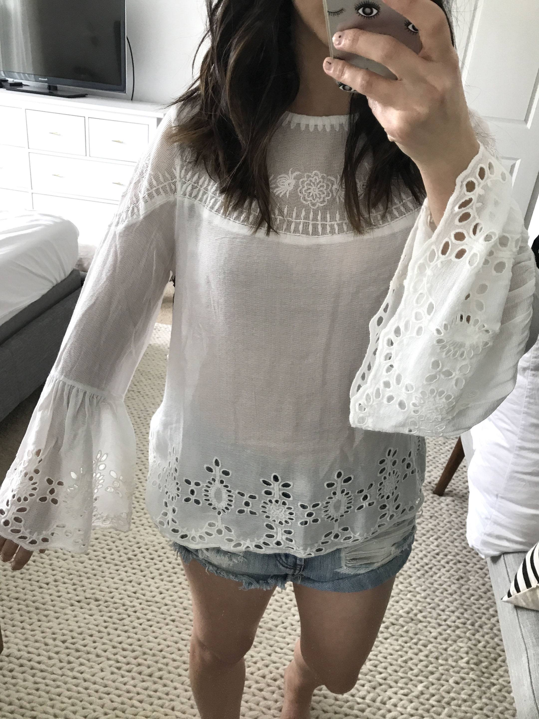 Willow & Clay embroidered top 2
