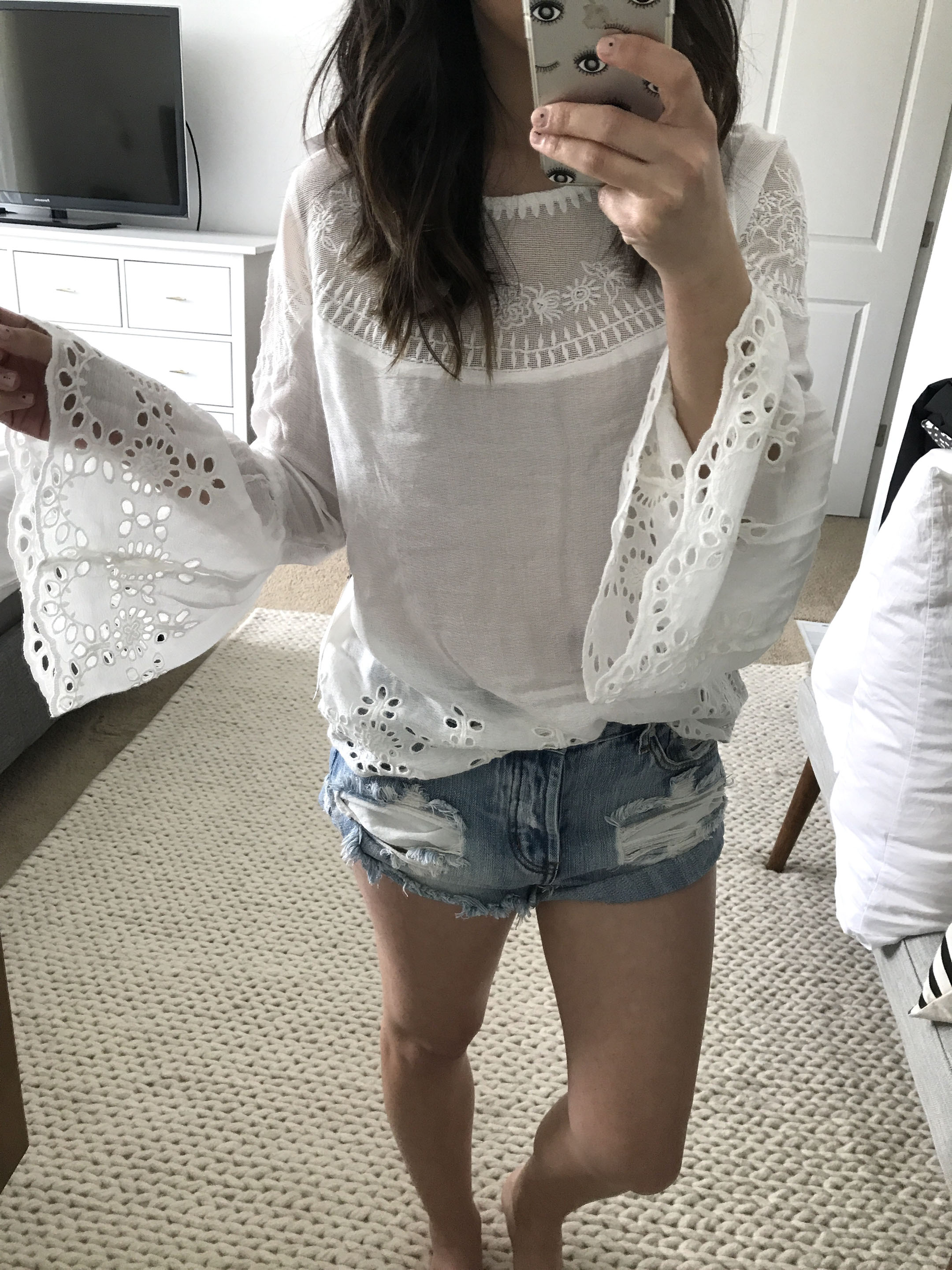 Willow & Clay embroidered top 3