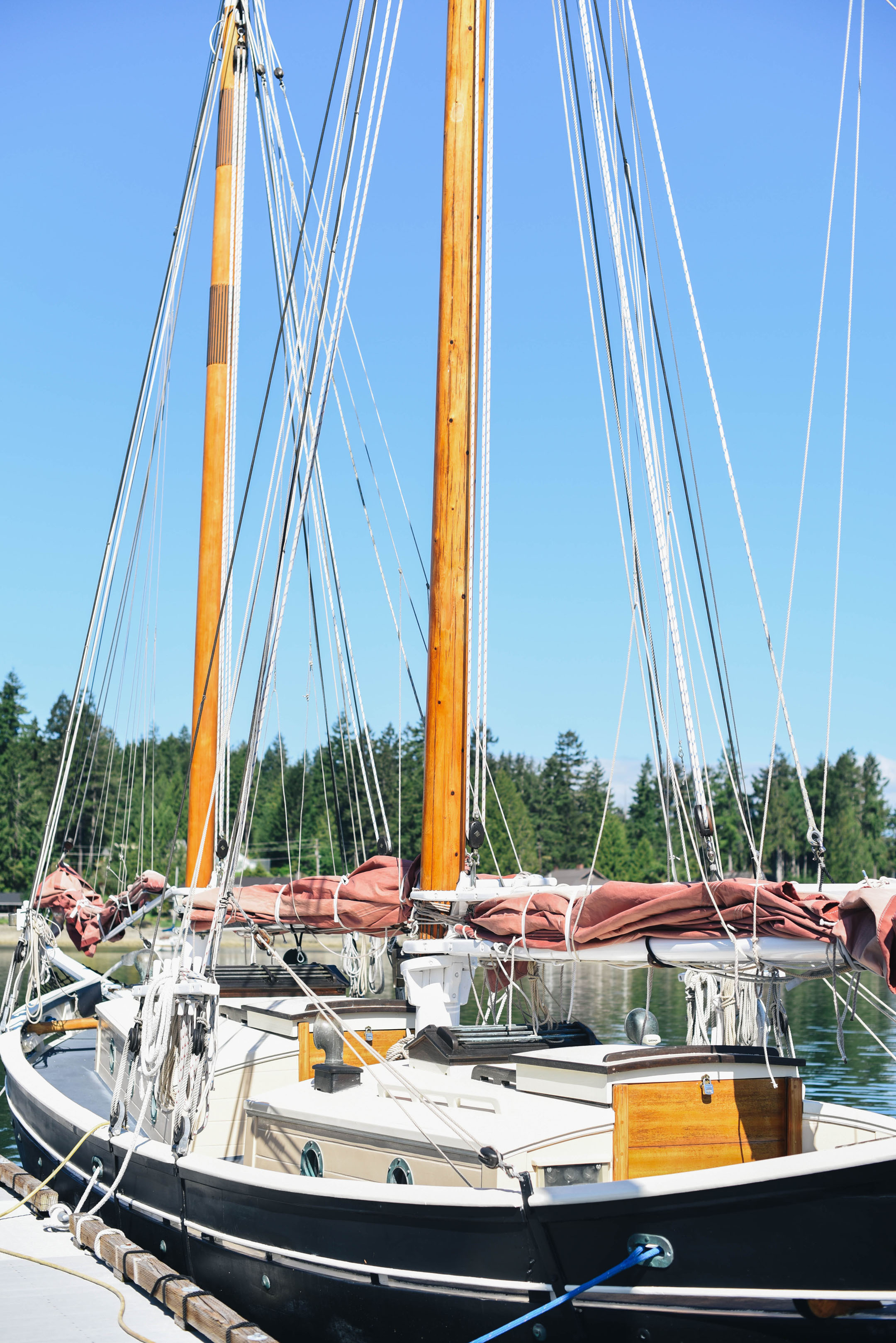 boats at alderbrook resort