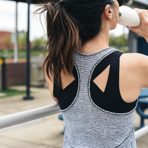 lululemon black Enlite Bra