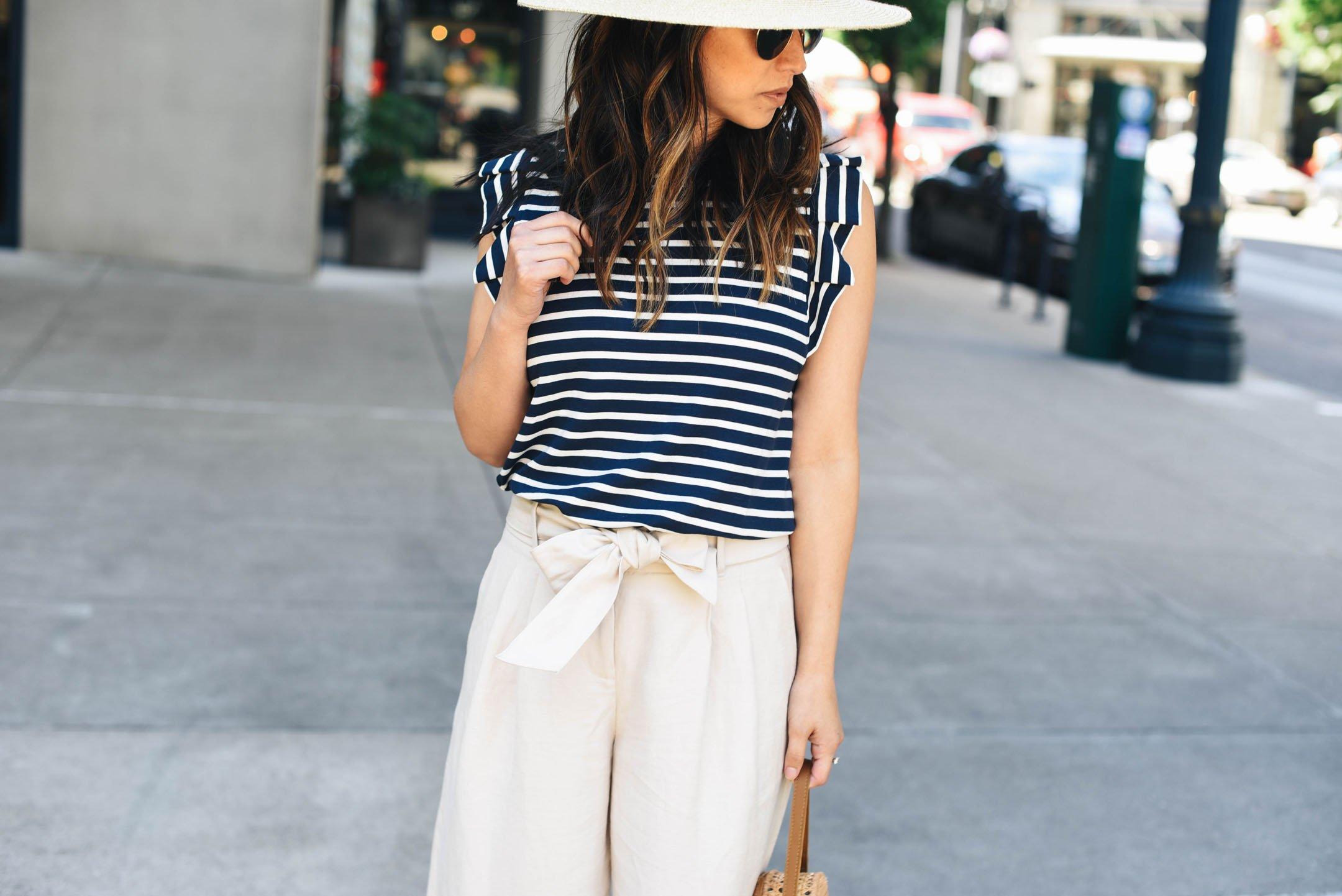 Ann Taylor linen trousers