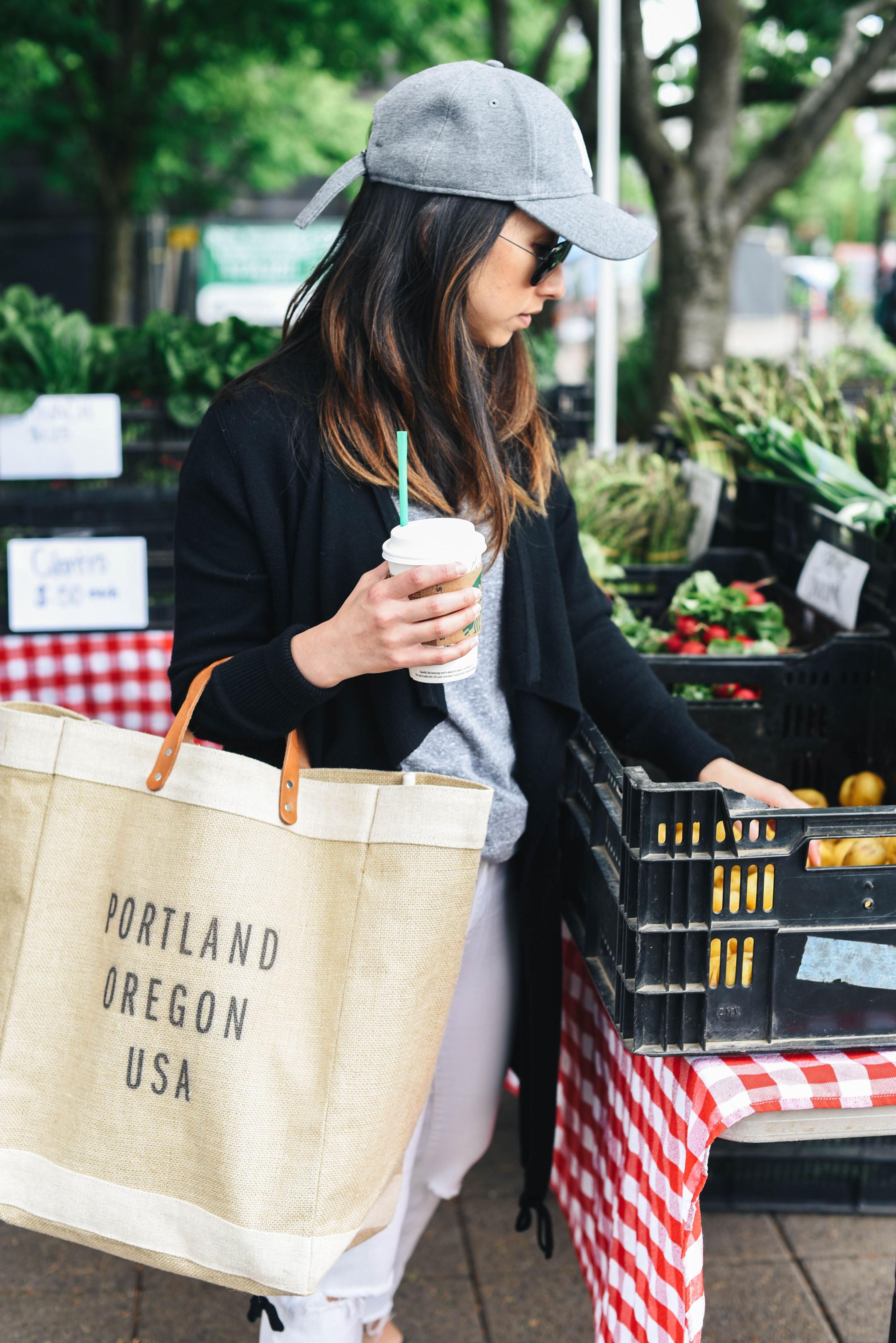 Crystalin Marie Apolis Portland market tote