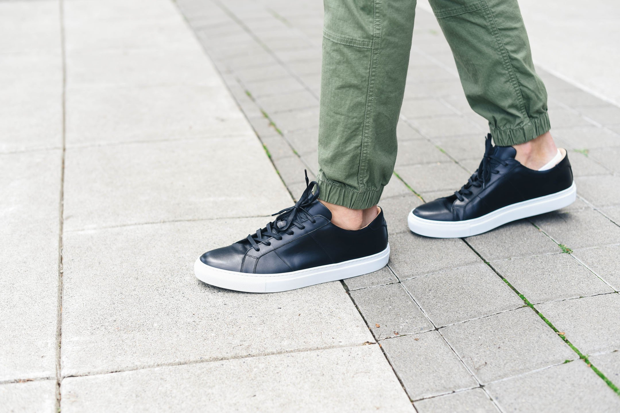 Greats Royale sneaker in Nero