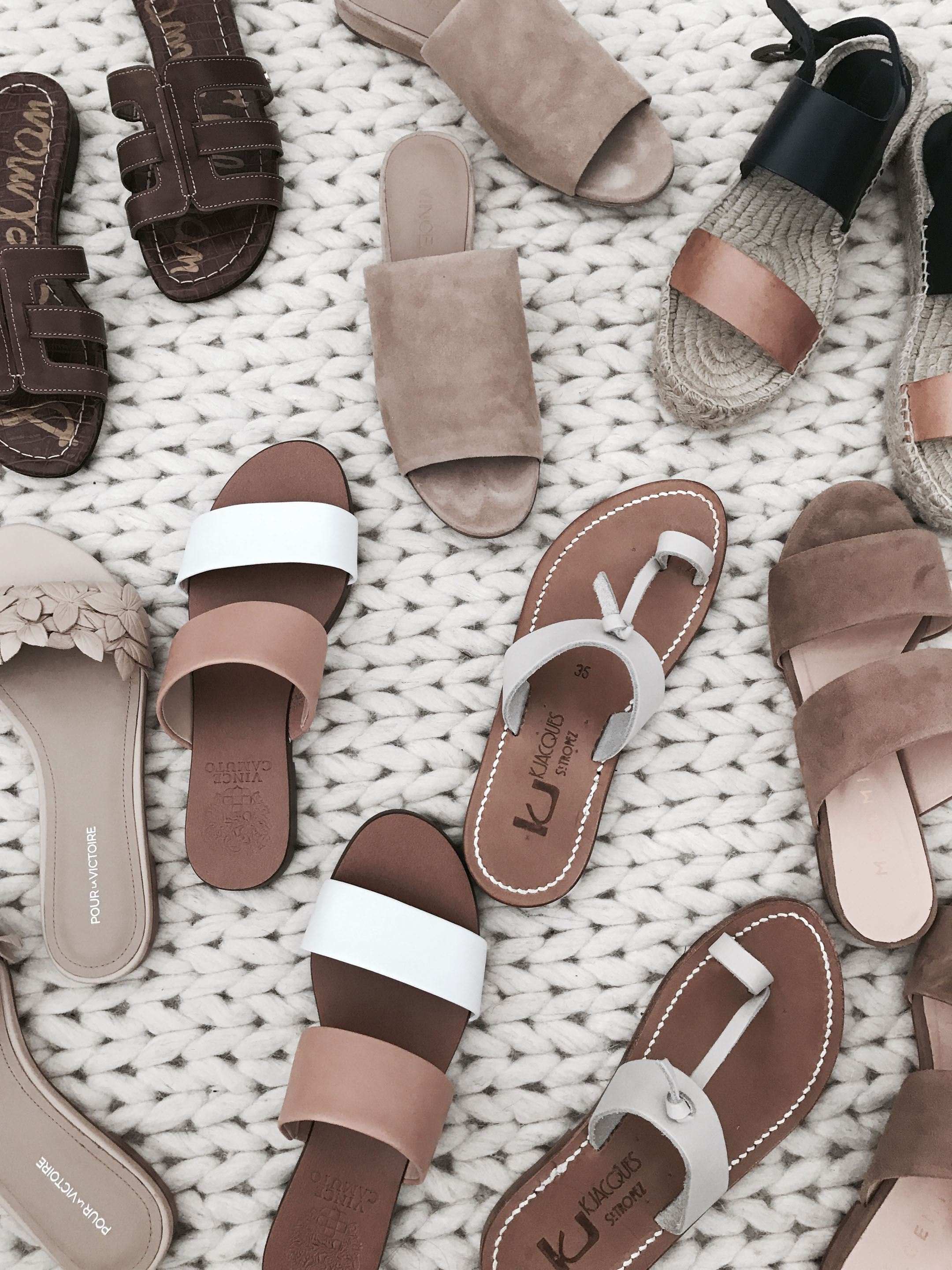 Guide to summer sandals