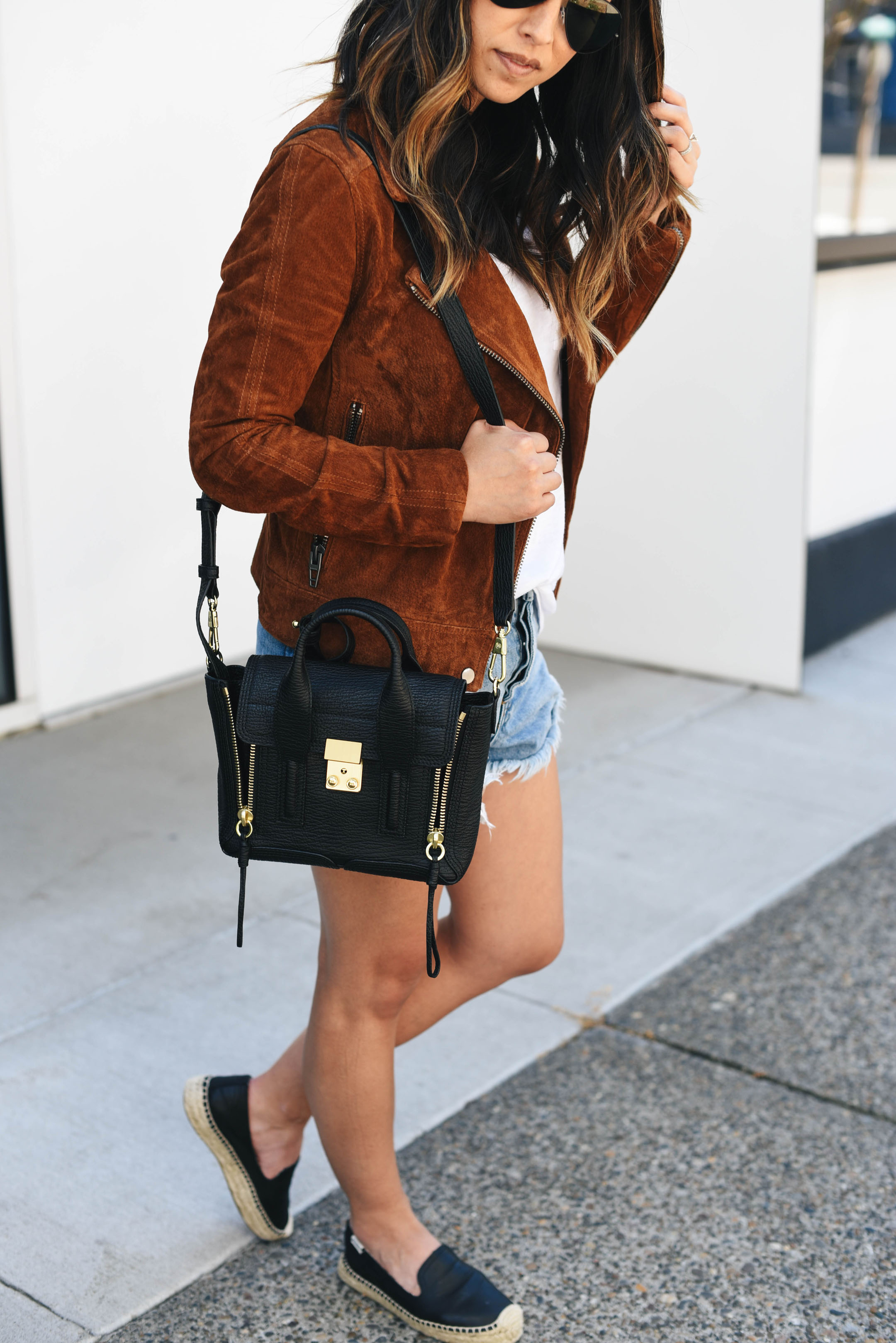 3.1 Phillip Lim mini pashli satchel styled