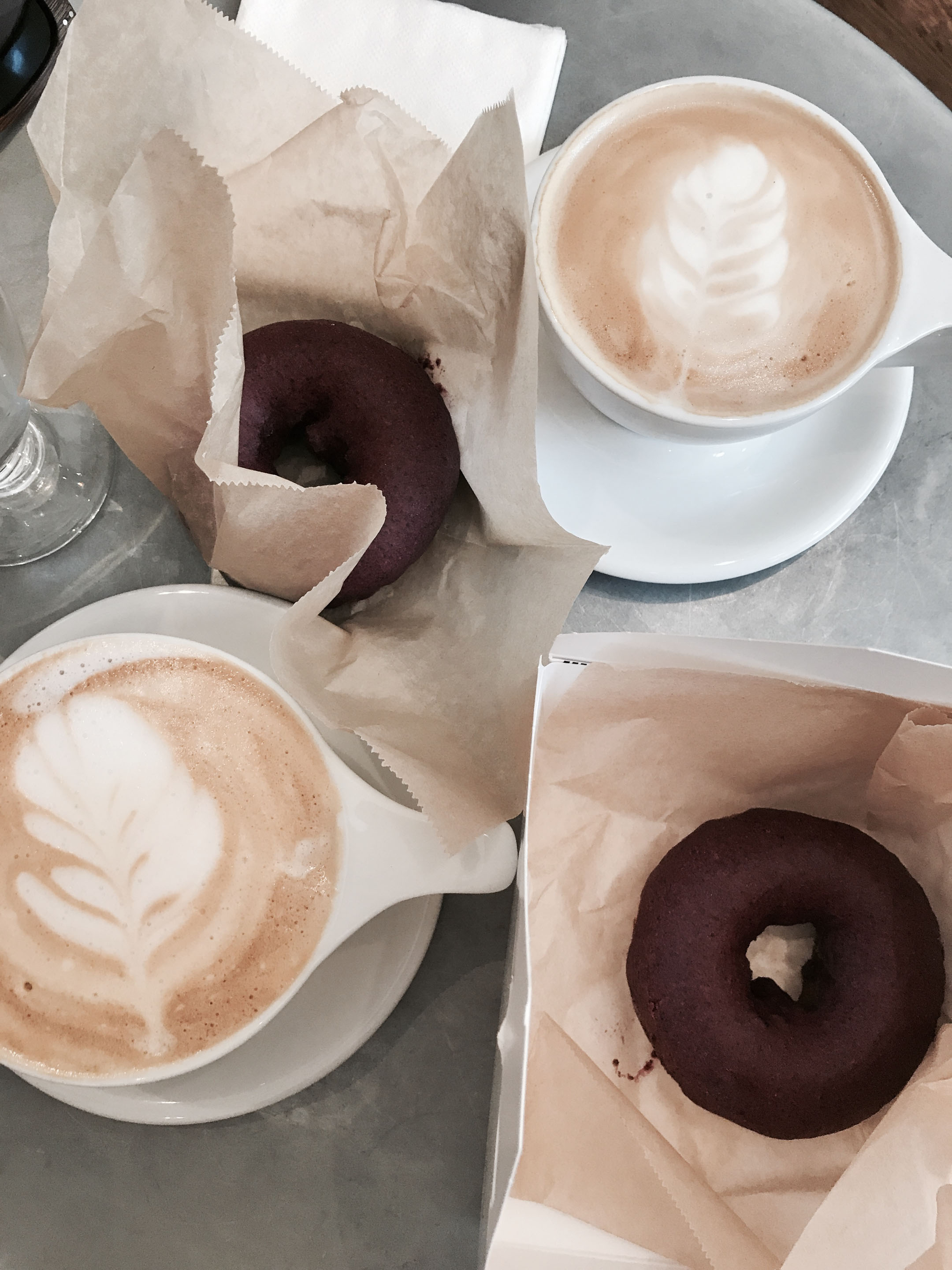 Blue Star Vegan donuts