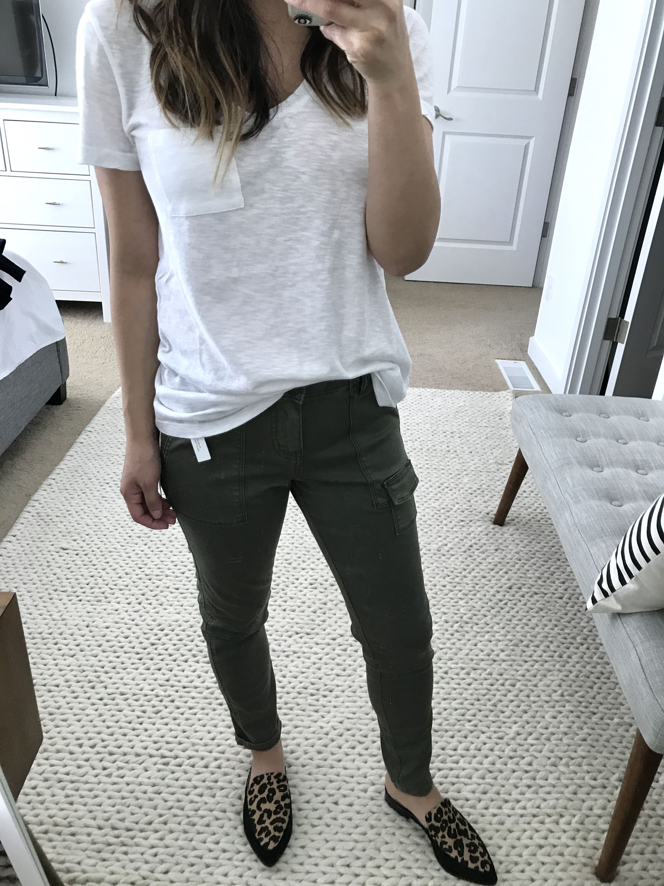 Caslon cargo pants