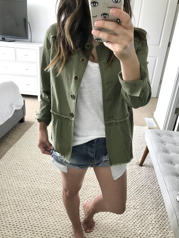 Caslon twill jacket