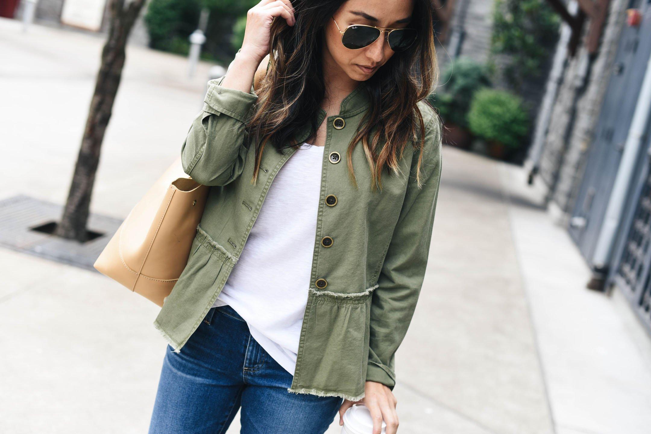 Caslon twill peplum jacket 2