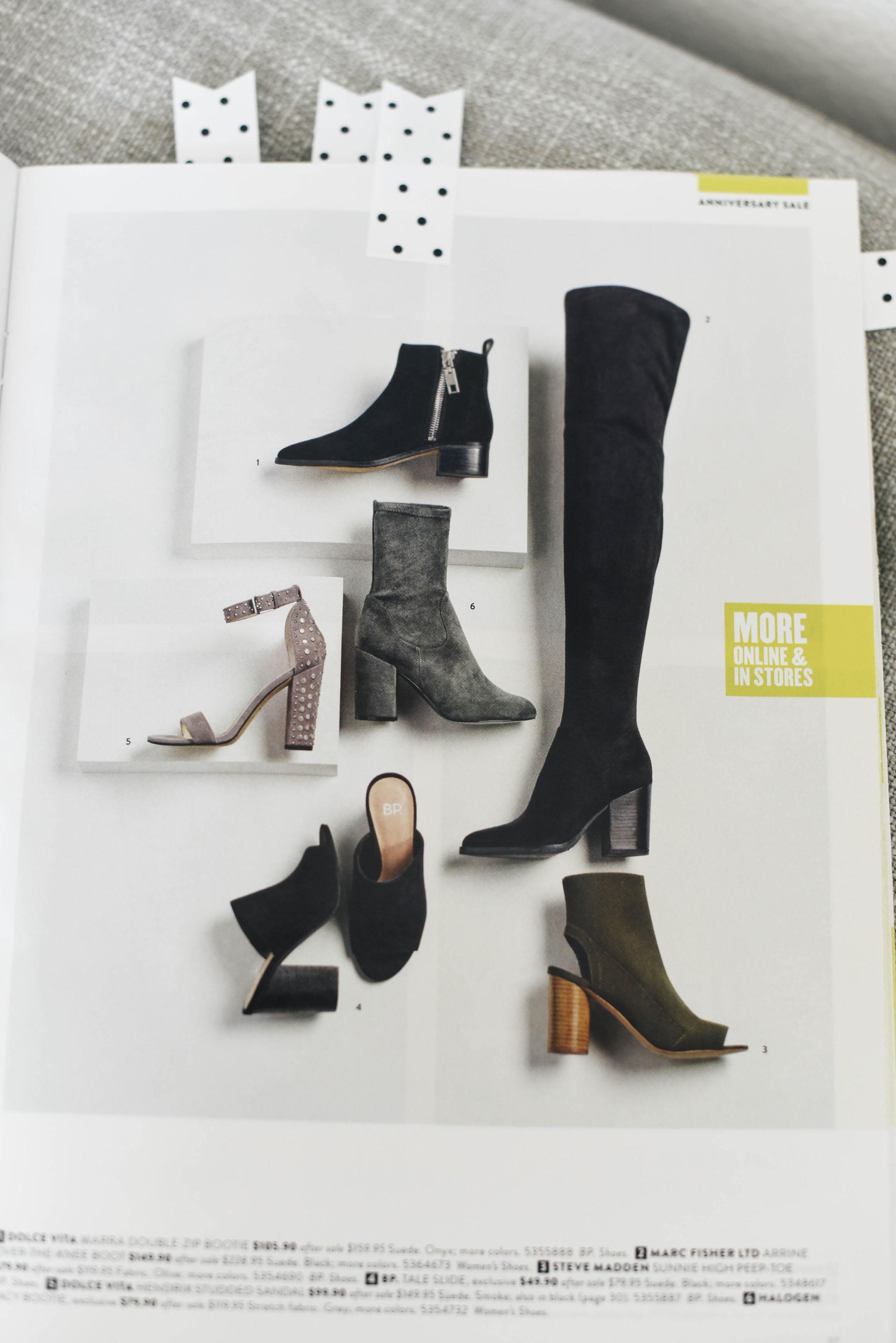 Dolce Vita marra double zip bootie Nordstrom Anniversary Sale 2017