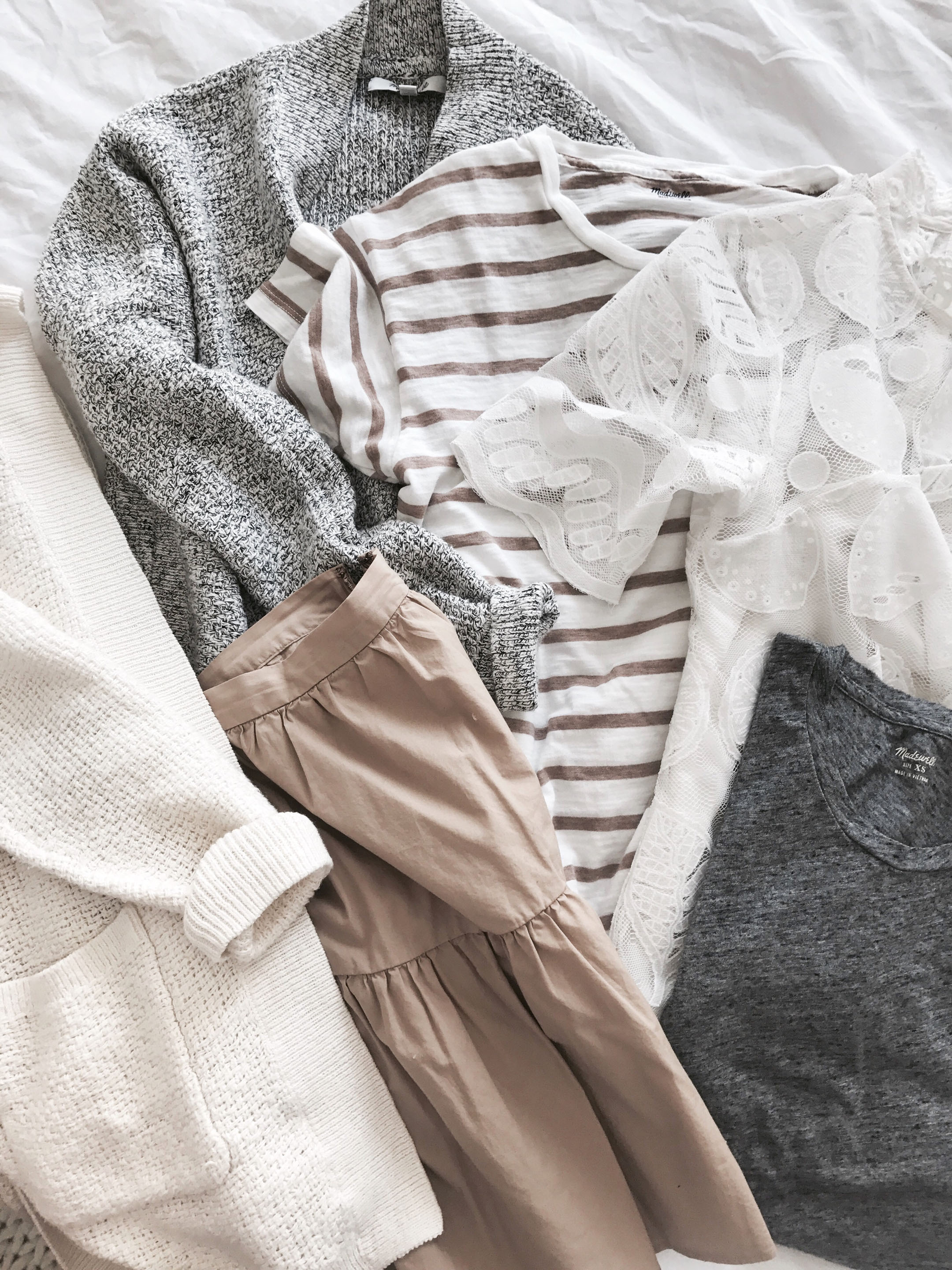 Madewell neutral tones