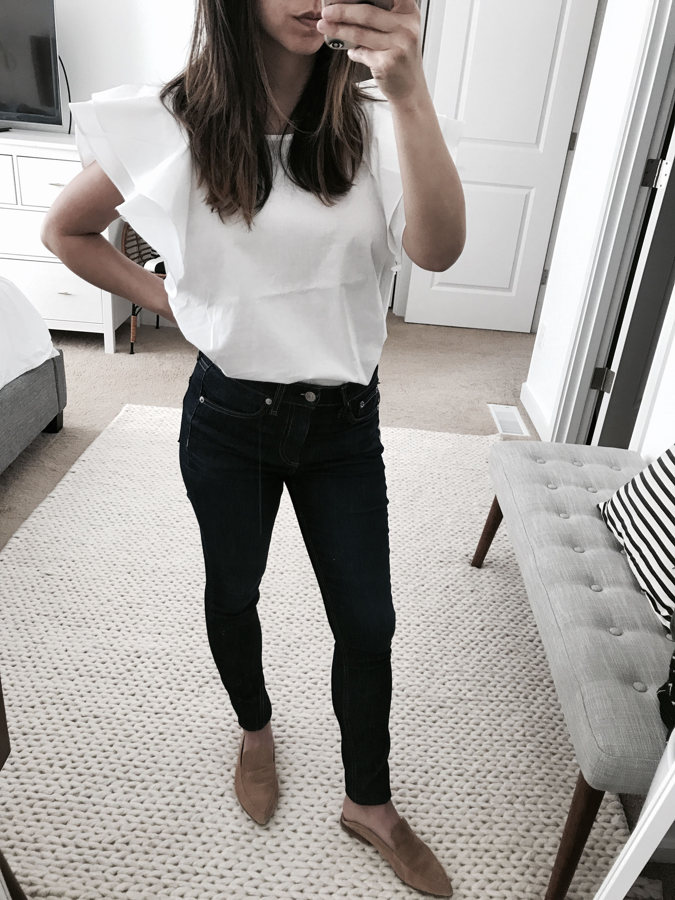 Rag & Bone high waisted ankle jeans