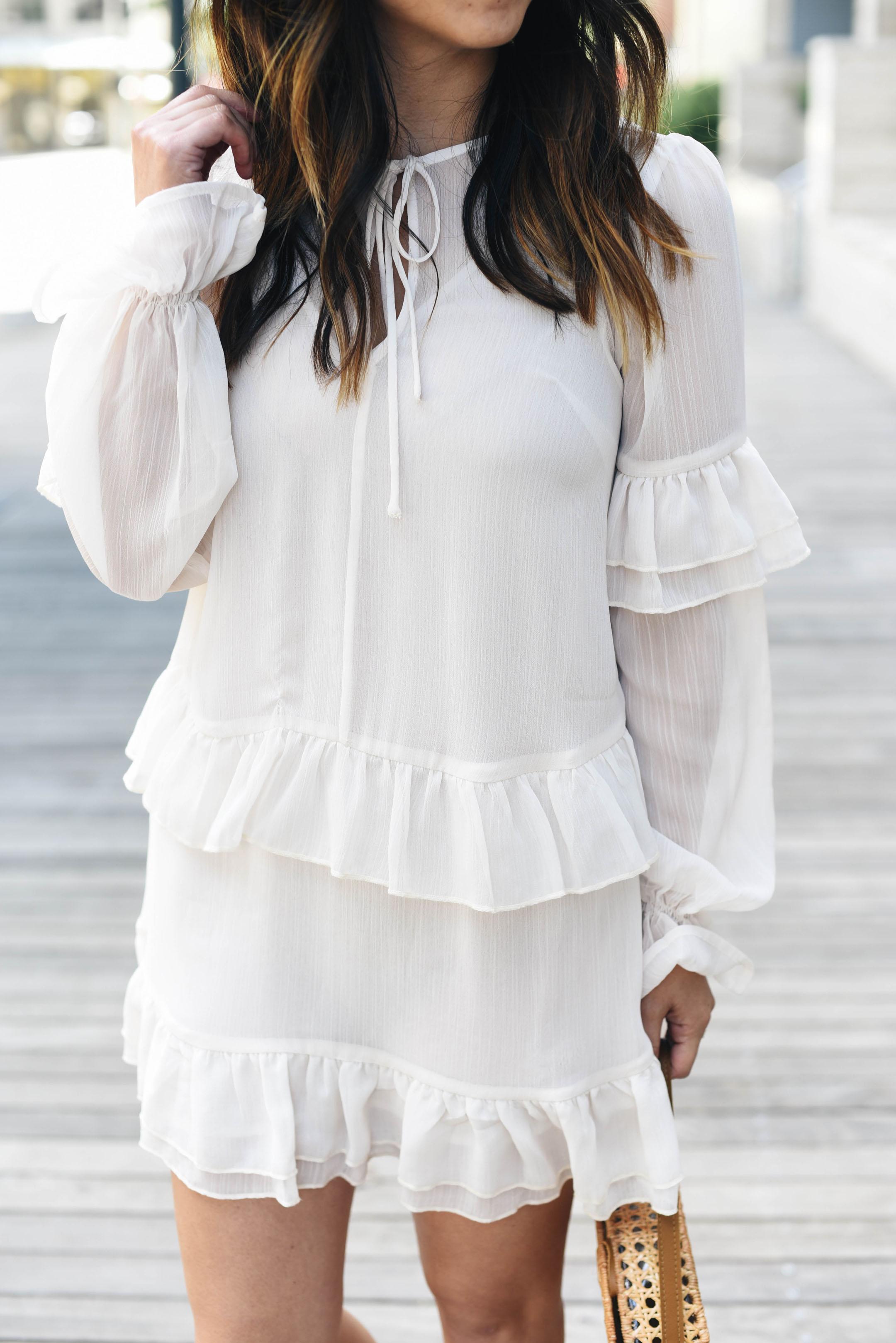 Tularosa Darla Ruffle Dress