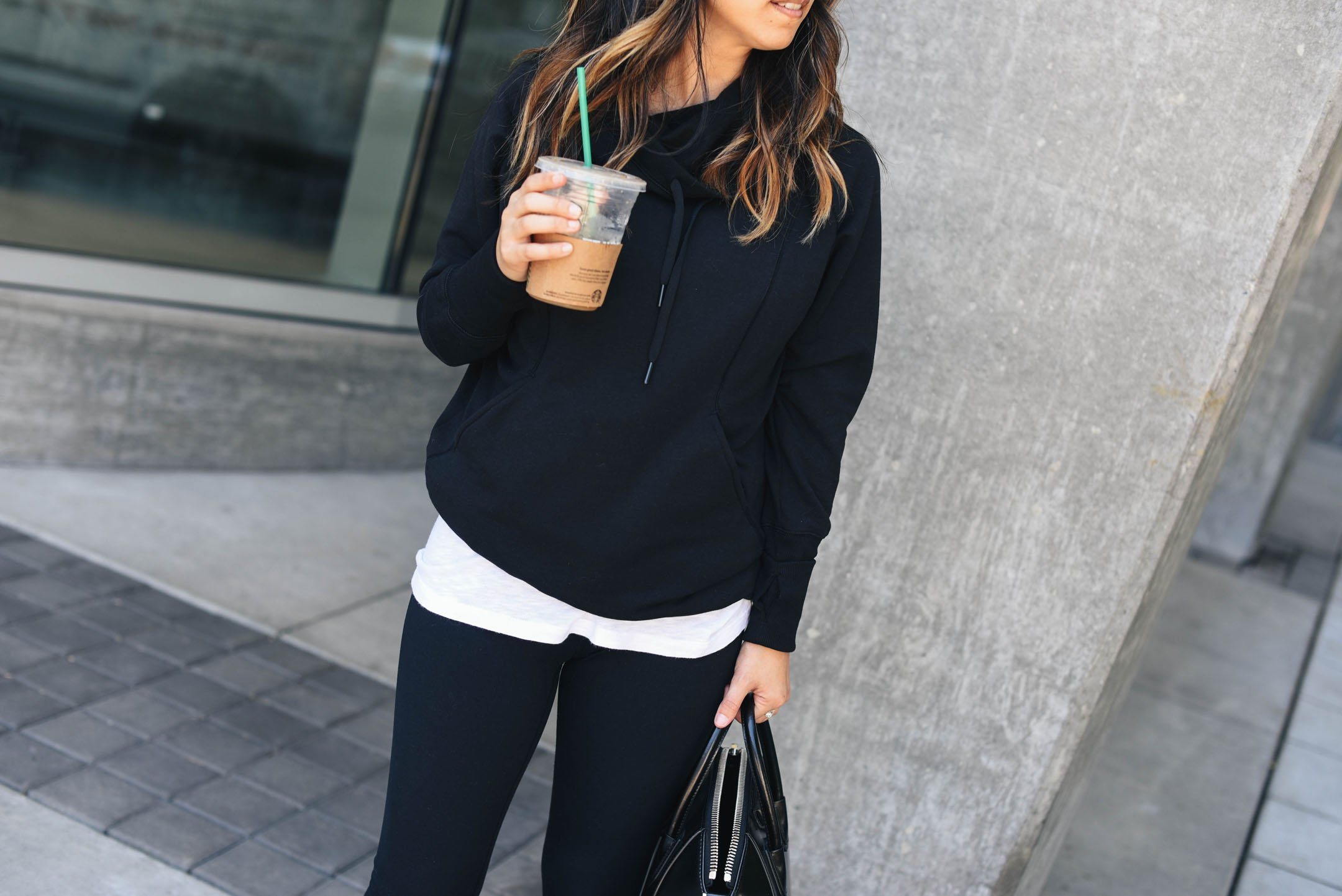 Zella hooded pullover