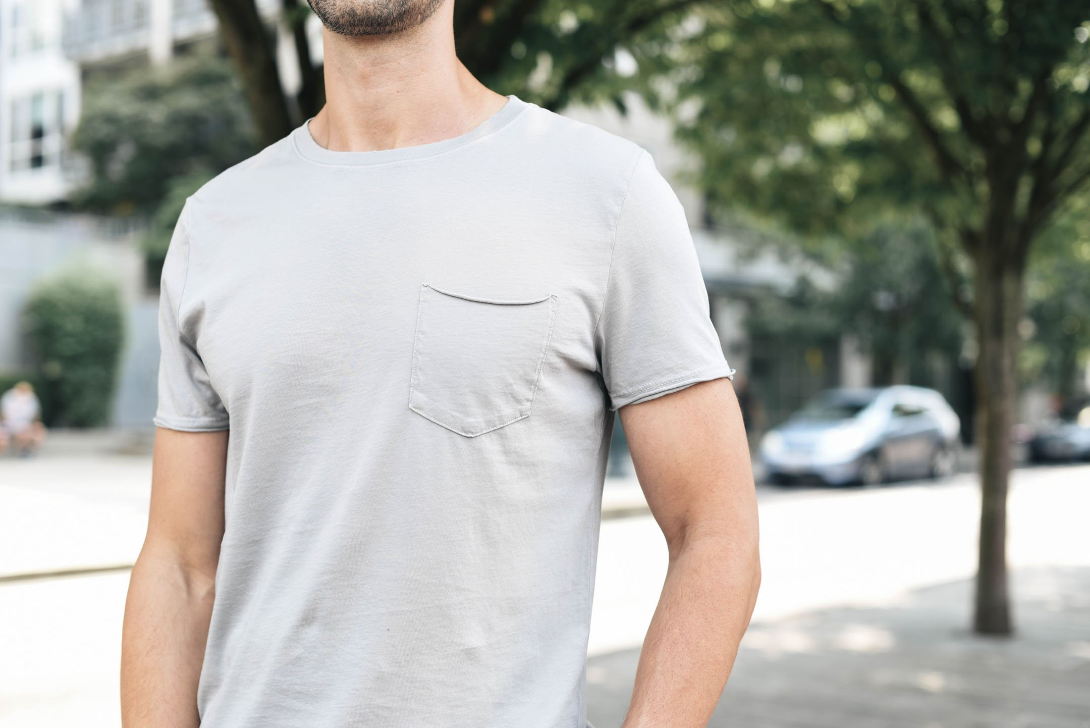 Anders Slim Fit Pocket T-Shirt AG