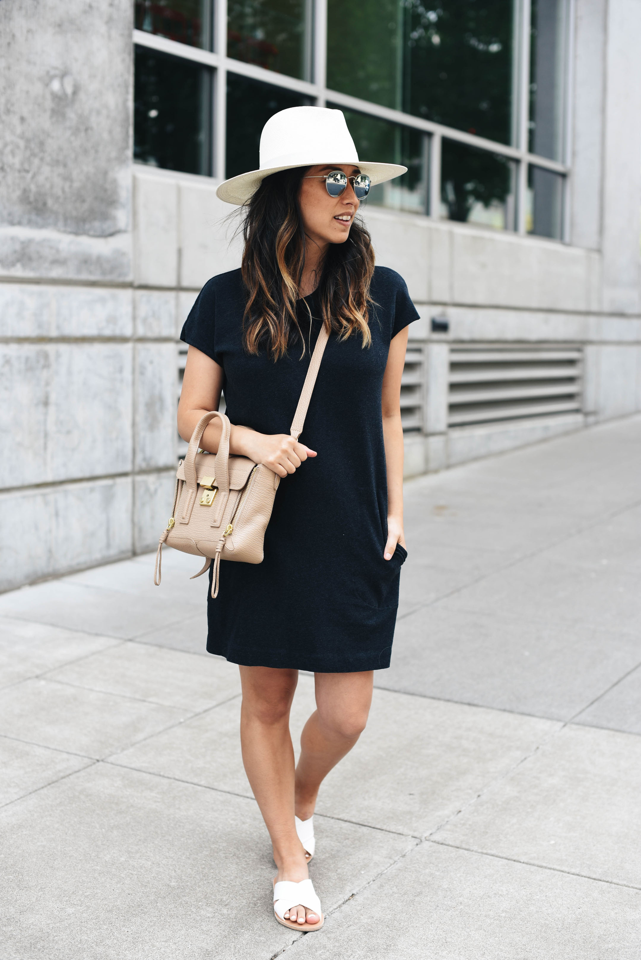 Aritzia community shirt dress