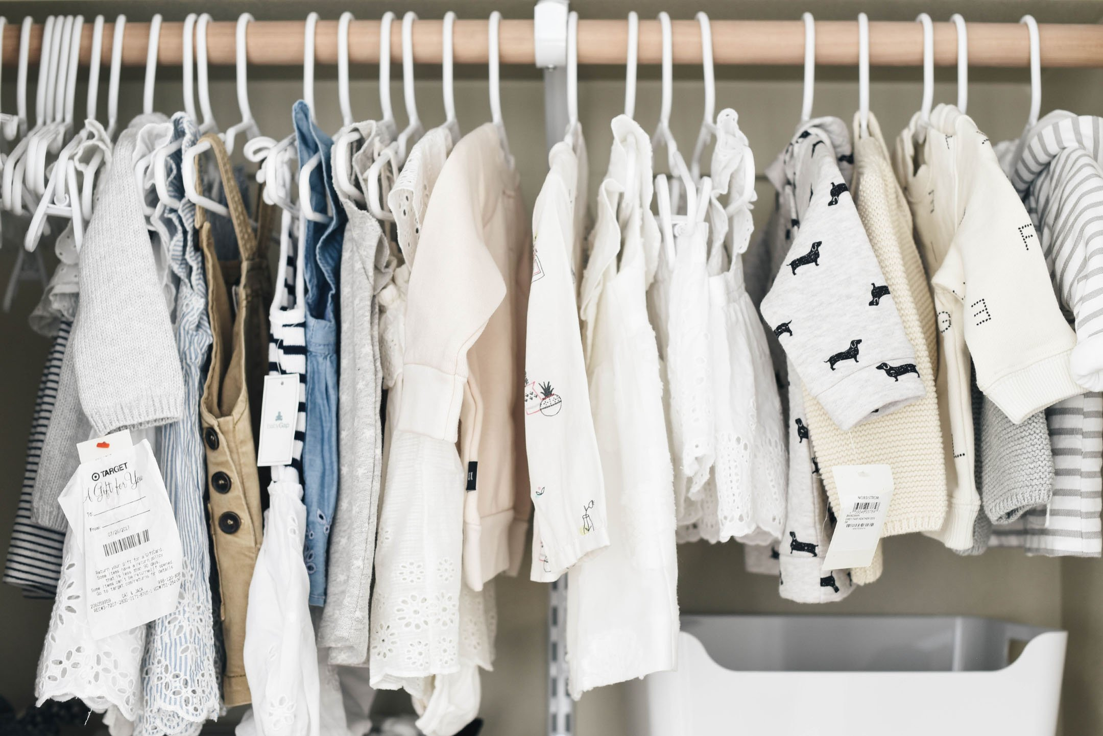 Baby D neutral closet