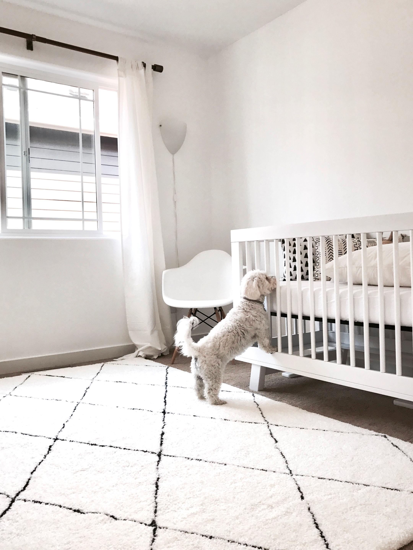 Baby D nursery