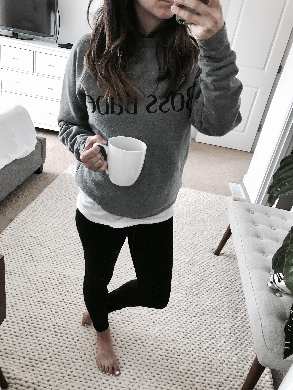 Boss Babe sweatshirt