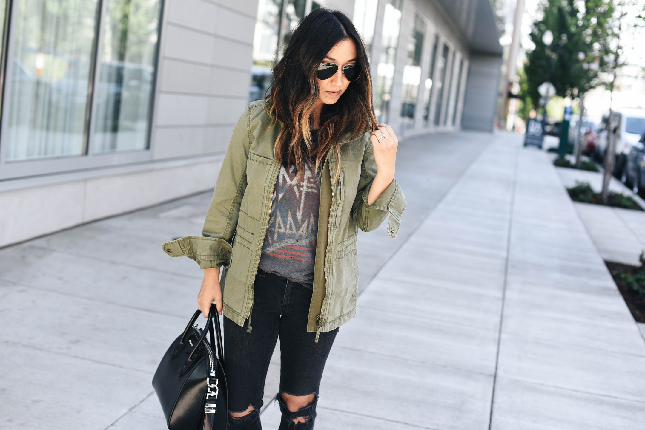 How to style rocker tees