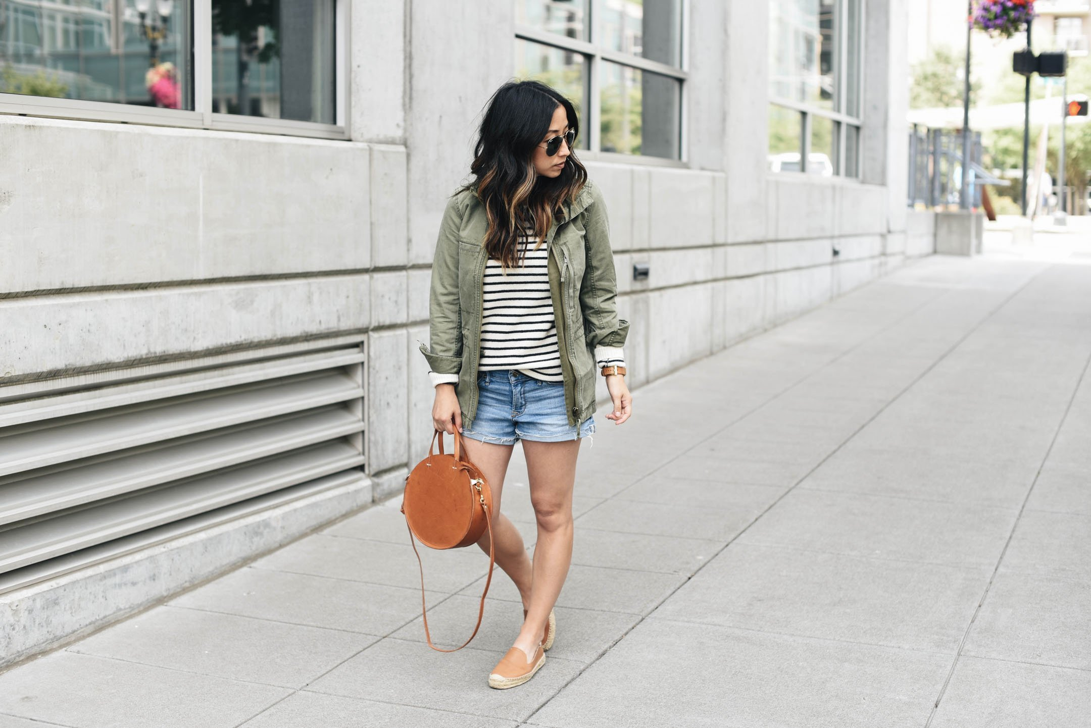 Madewell fleet jacket styled