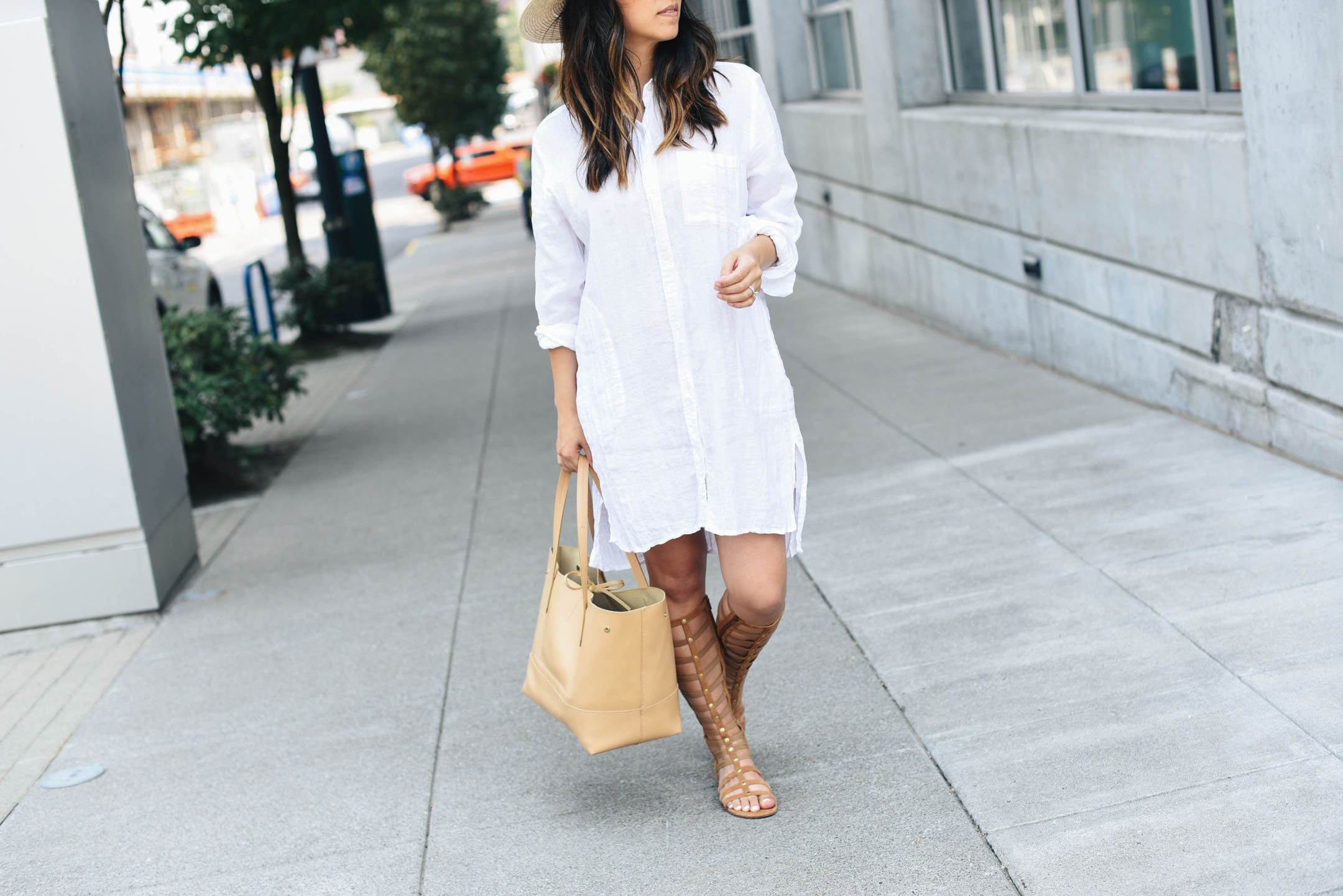 Maternity dress style