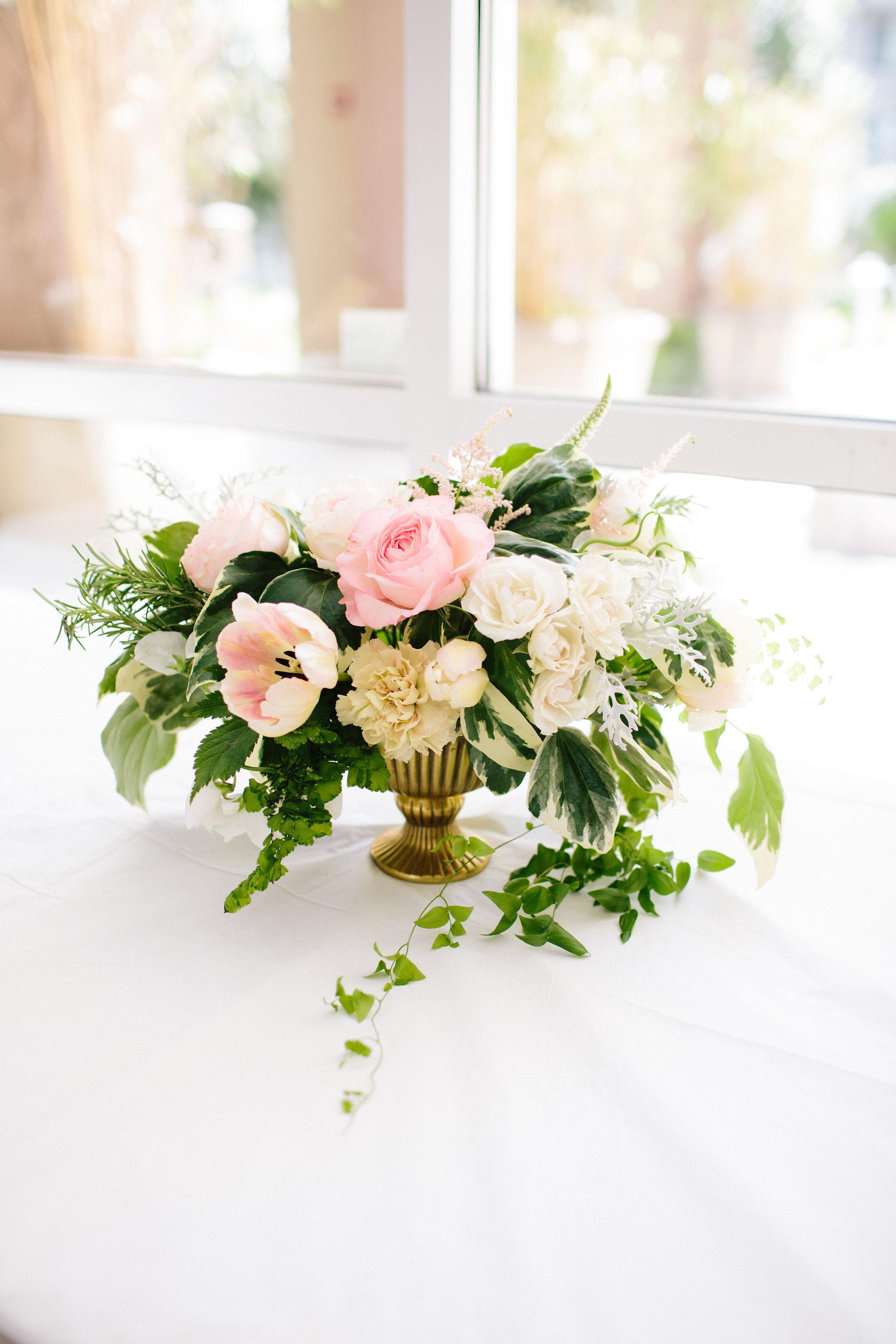 Tango & Foxtrot floral arrangement