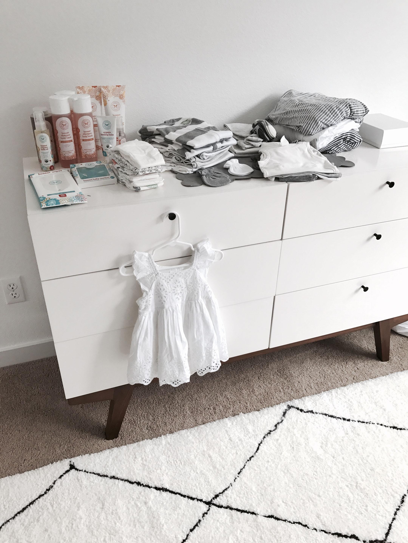 West Elm modern 6 drawer dresser