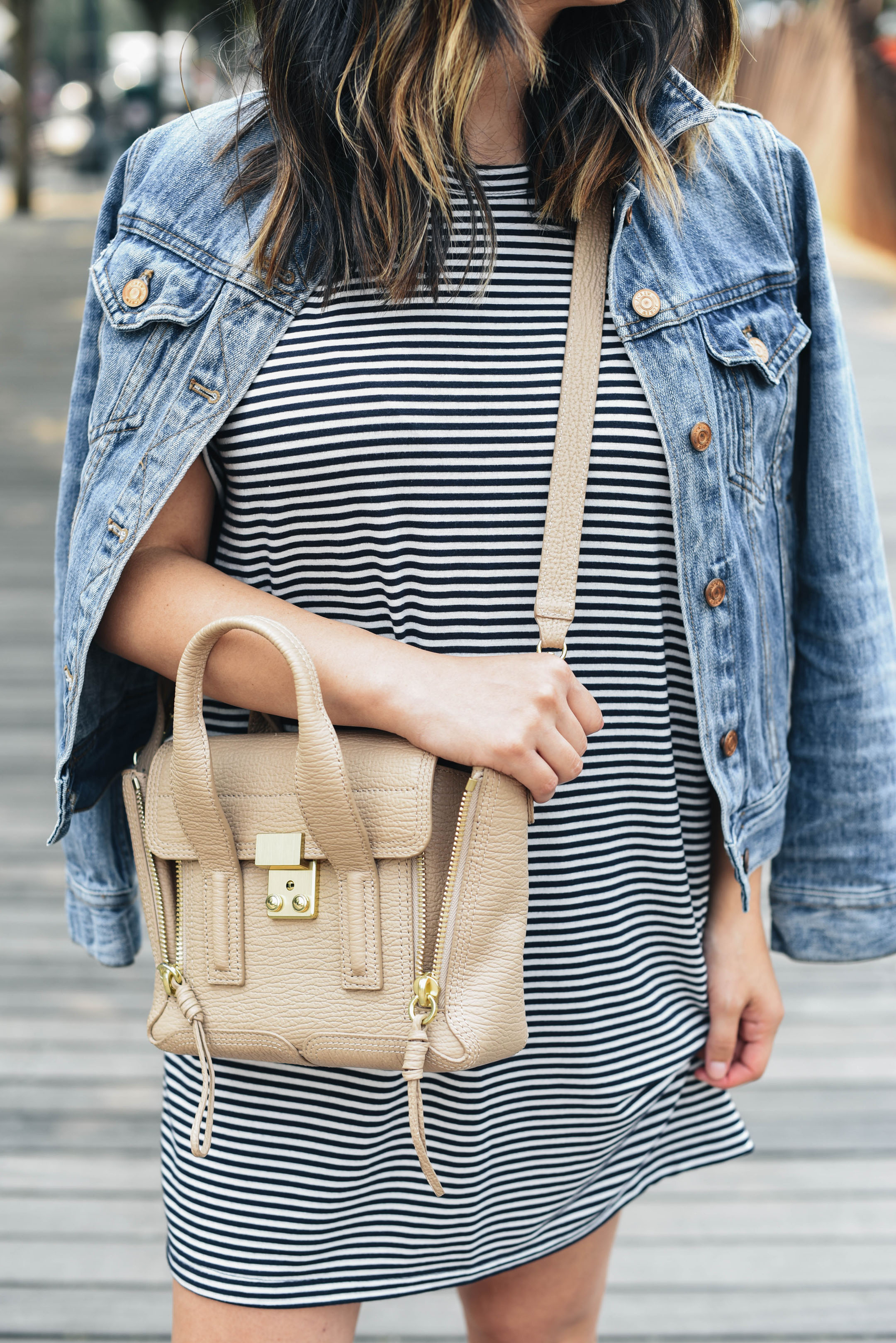 3.1 Phillip Lim mini pashli cashew satchel