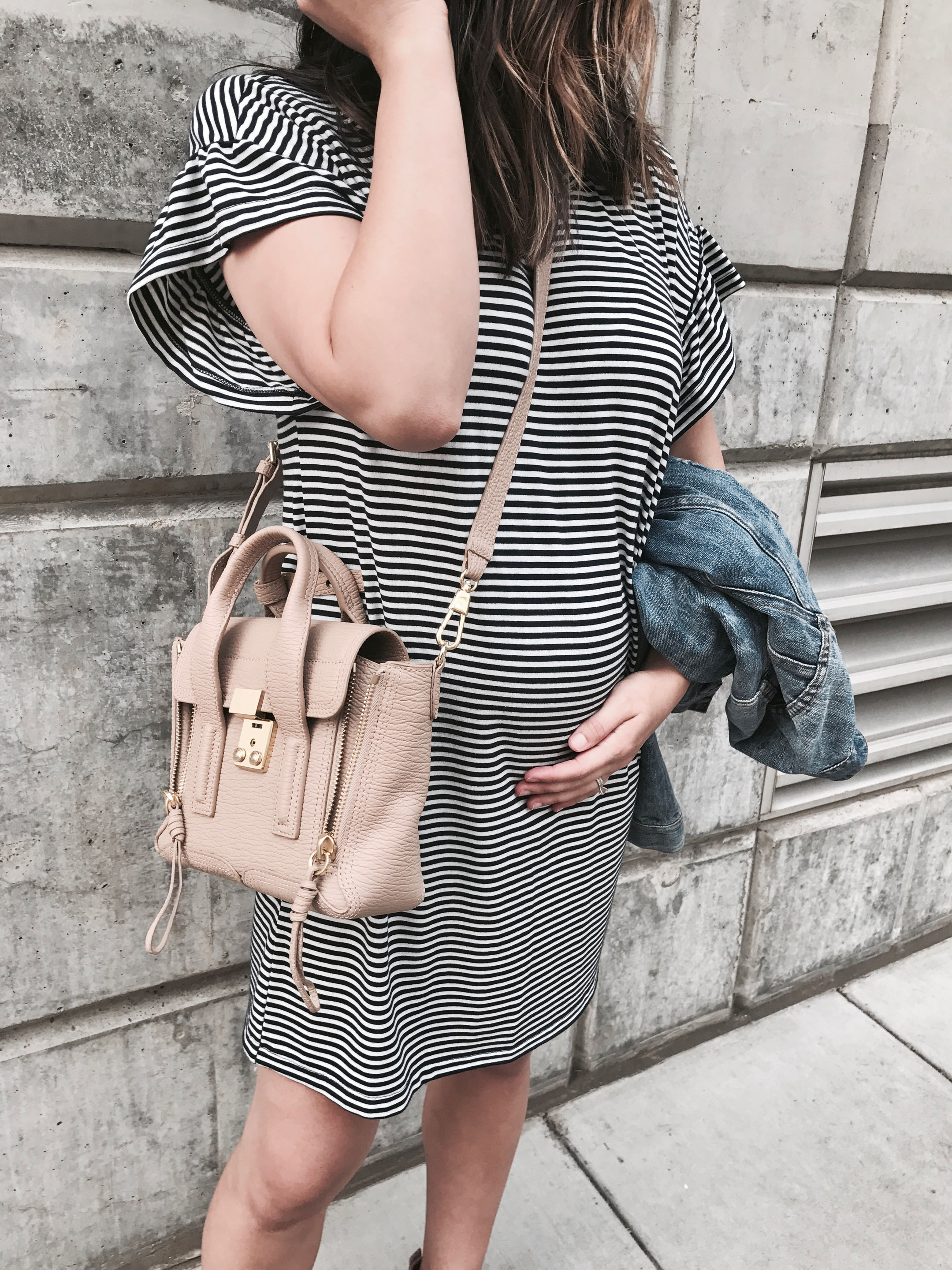 Abercrombie stripe dress
