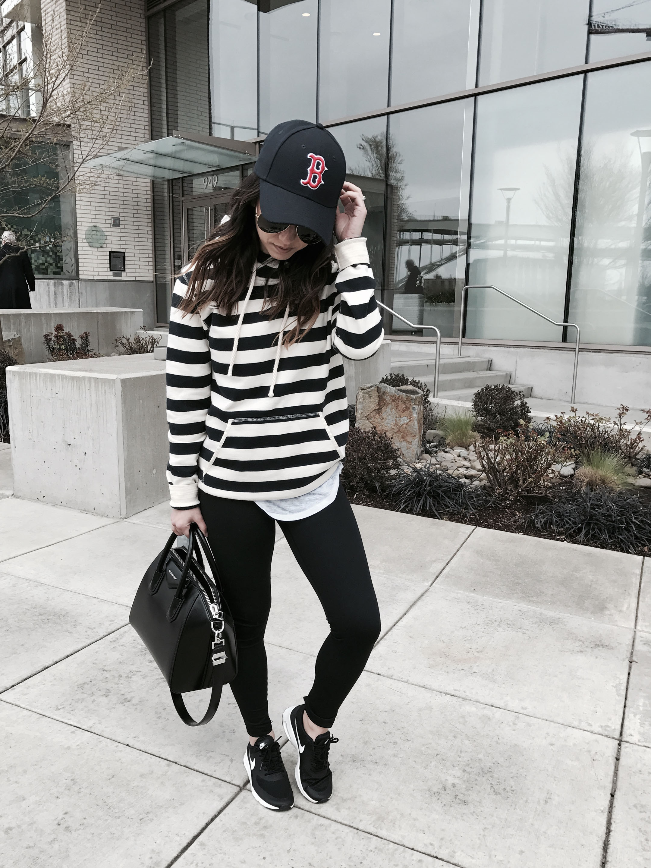 Athletic and casual style