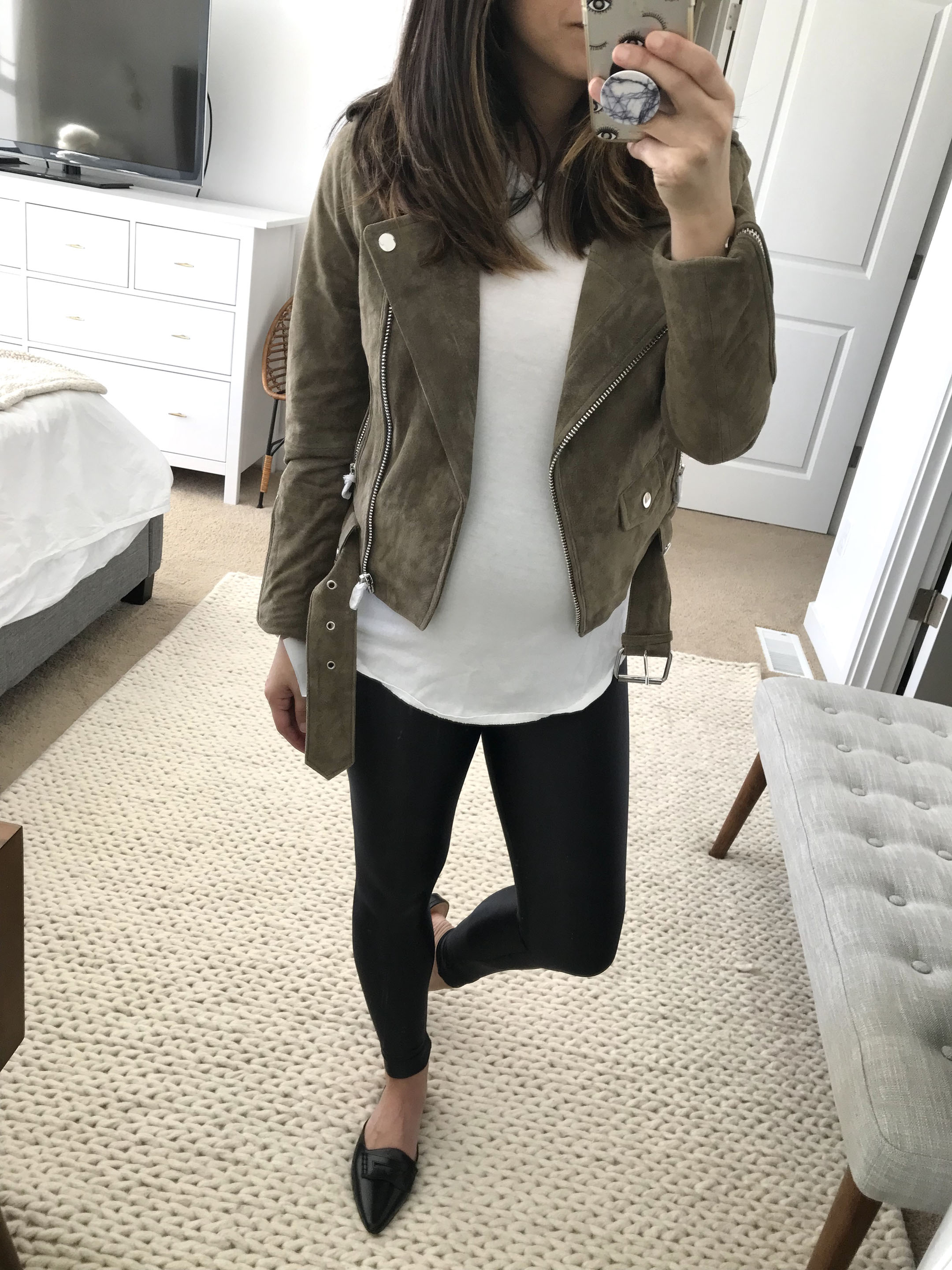 21baccc3c747b Driftwood suede moto jacket 2