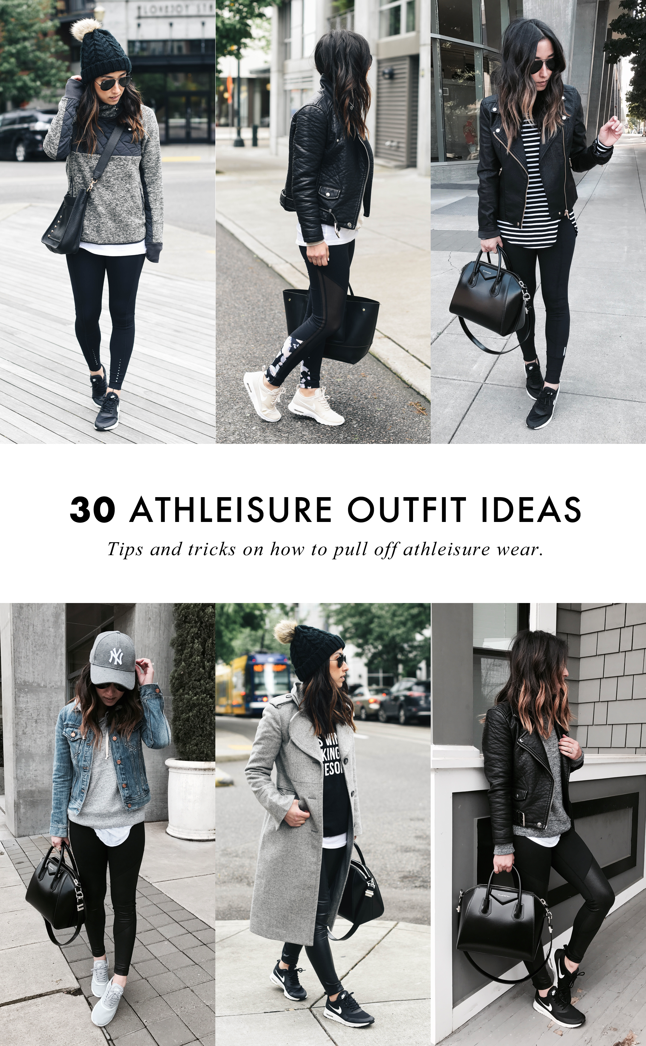64ce9f7c How To Pull Off Athleisure Wear + 30 Outfit Ideas - Crystalin Marie