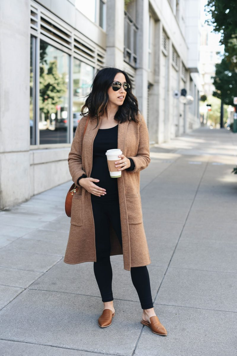 Camel Coatigan + Madewell New Arrivals