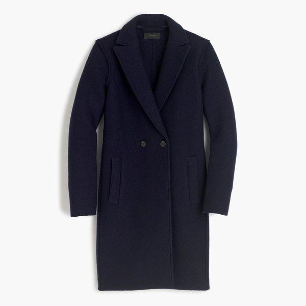 J.Crew navy coat